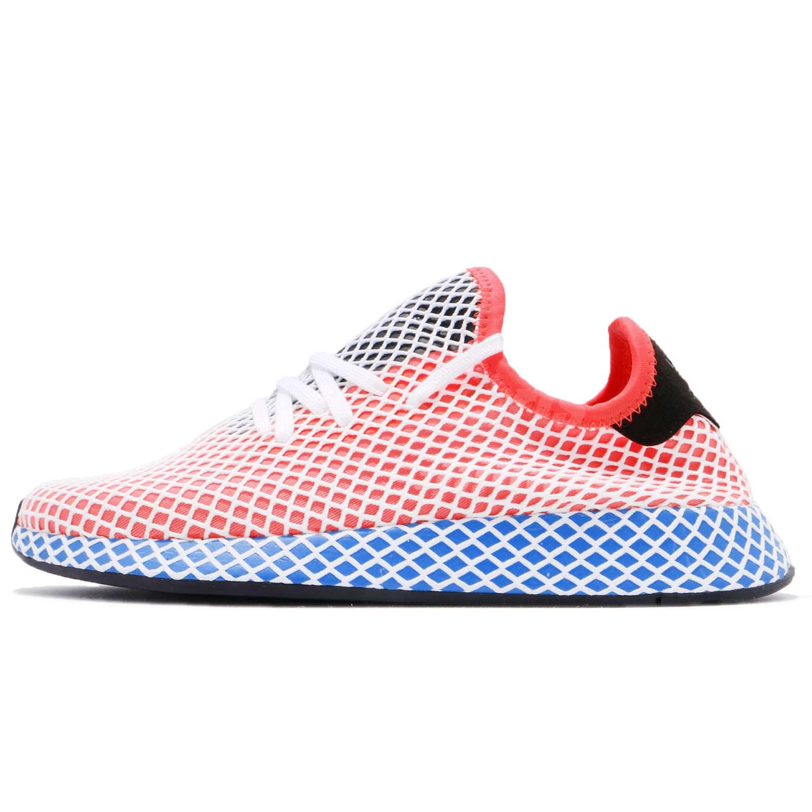 best service 9a348 be5c5 adidas Originals Deerupt Runner Solar Red Bluebird Adryan Hanson Men Shoe  CQ2624