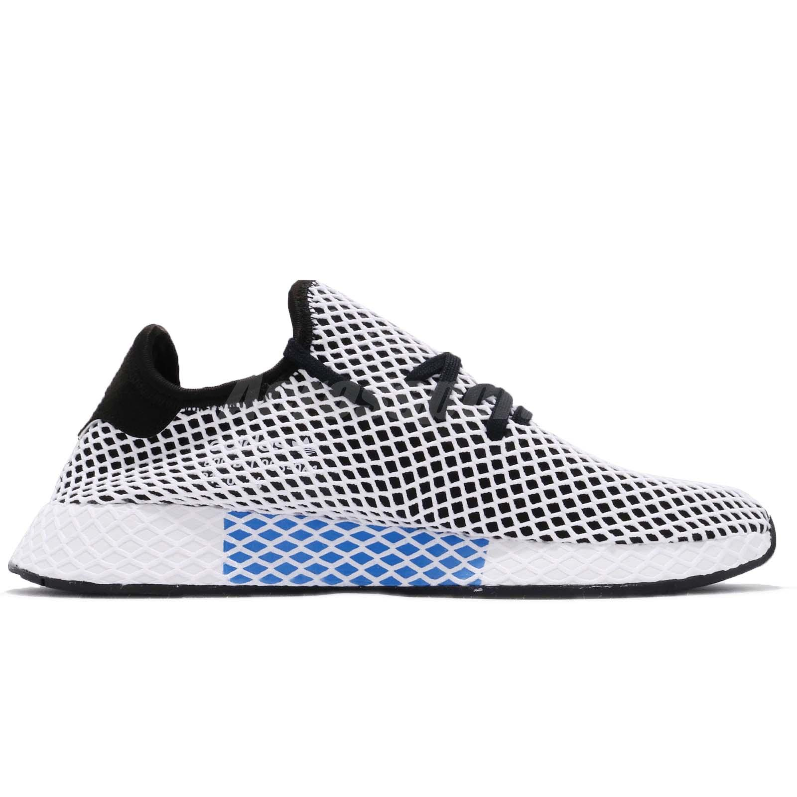 5820efacf adidas Originals Deerupt Runner Black White Men Running Shoes ...