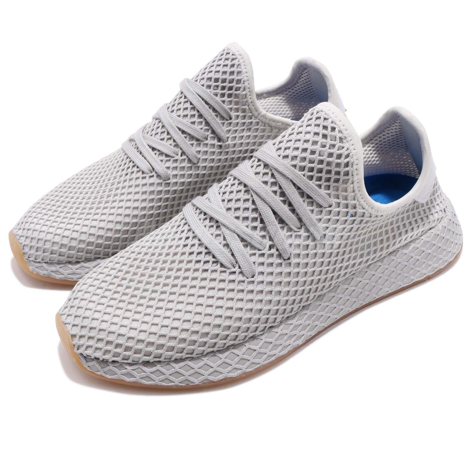 2bd16a60d94e5 Details about adidas Originals Deerupt Runner Grey Three Gum Men Running Shoes  Sneakers CQ2628