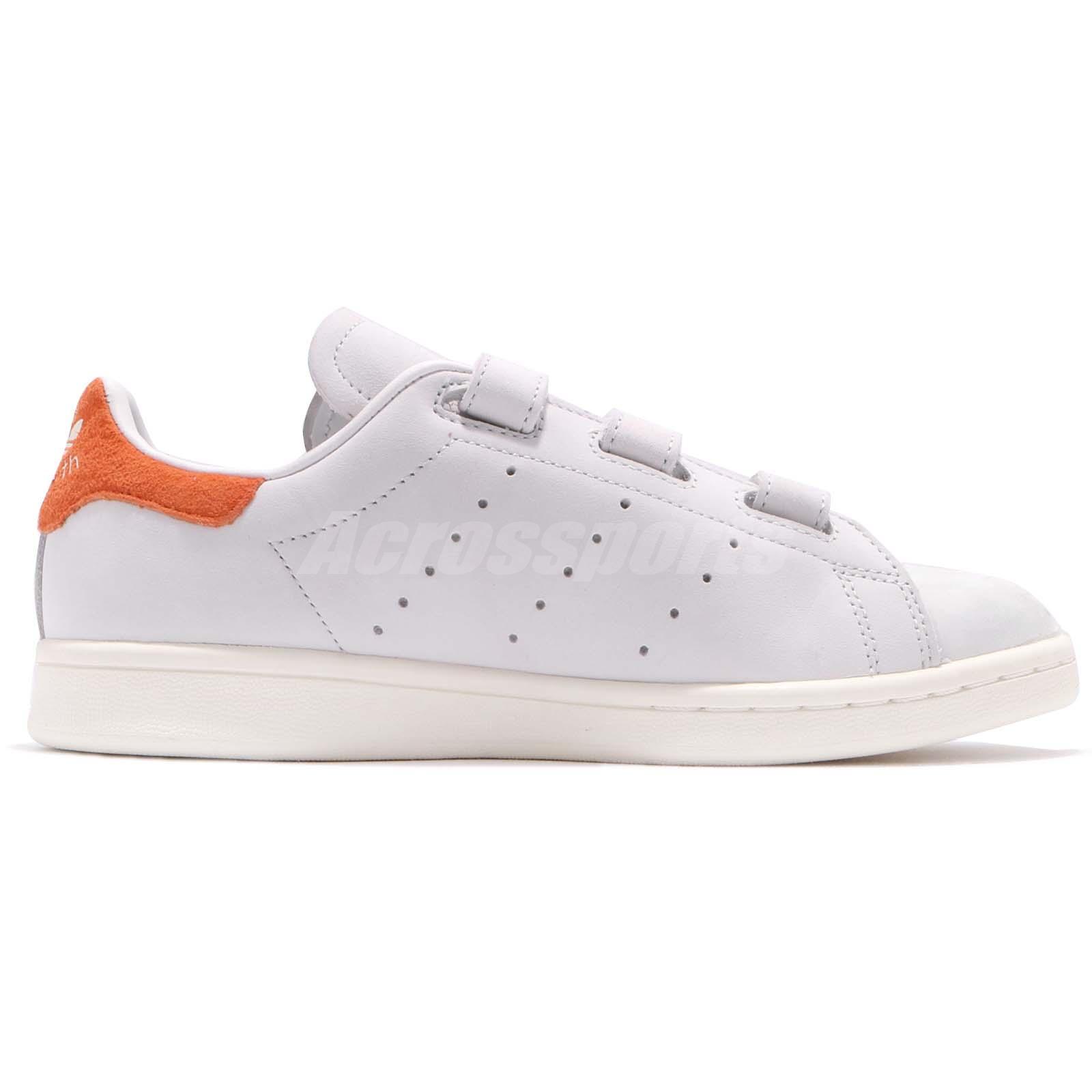 womens adidas stan smith orange