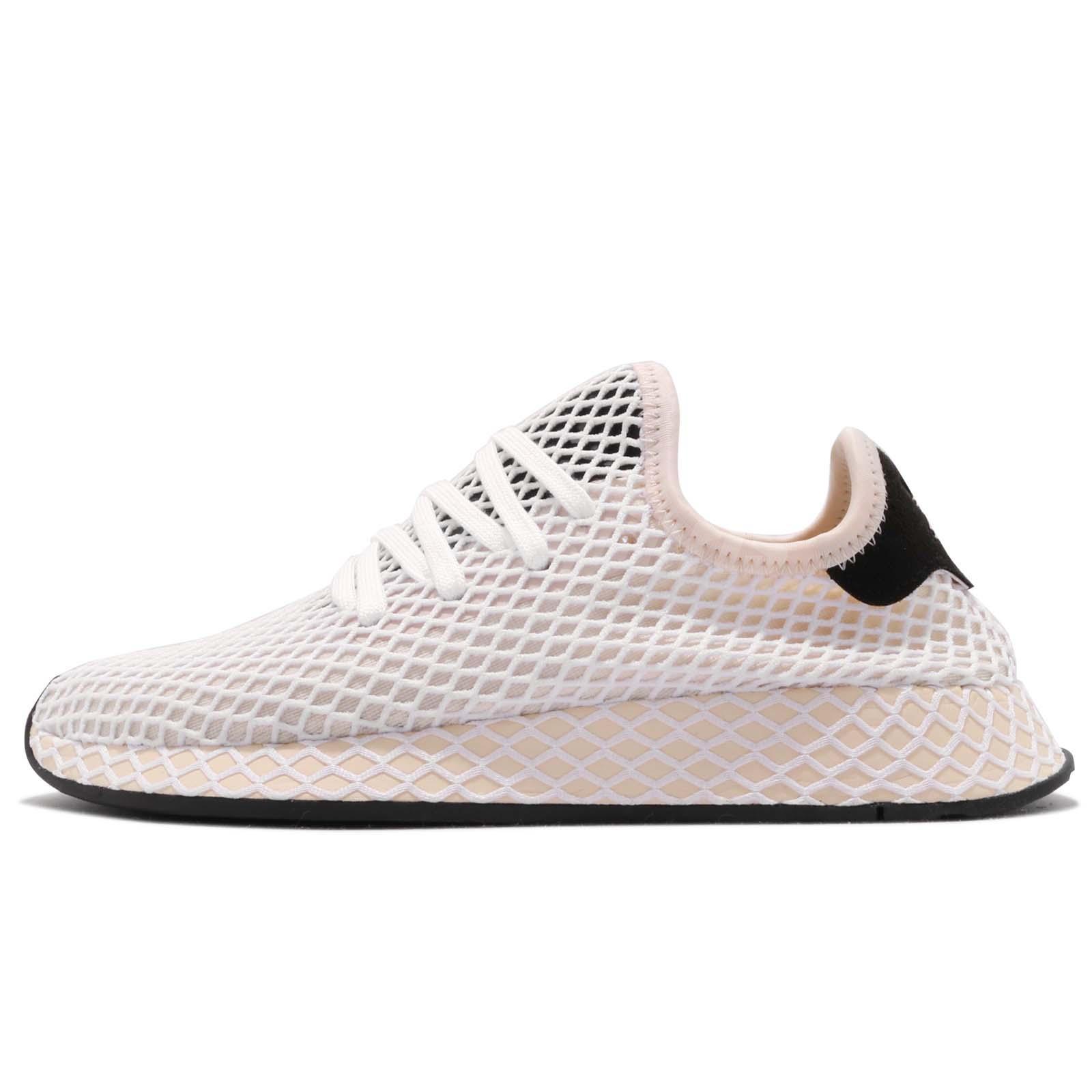 new arrival 2c3b5 e9aa6 adidas Originals Deerupt Runner W Linen Ecru Tint Women Running Shoes CQ2913