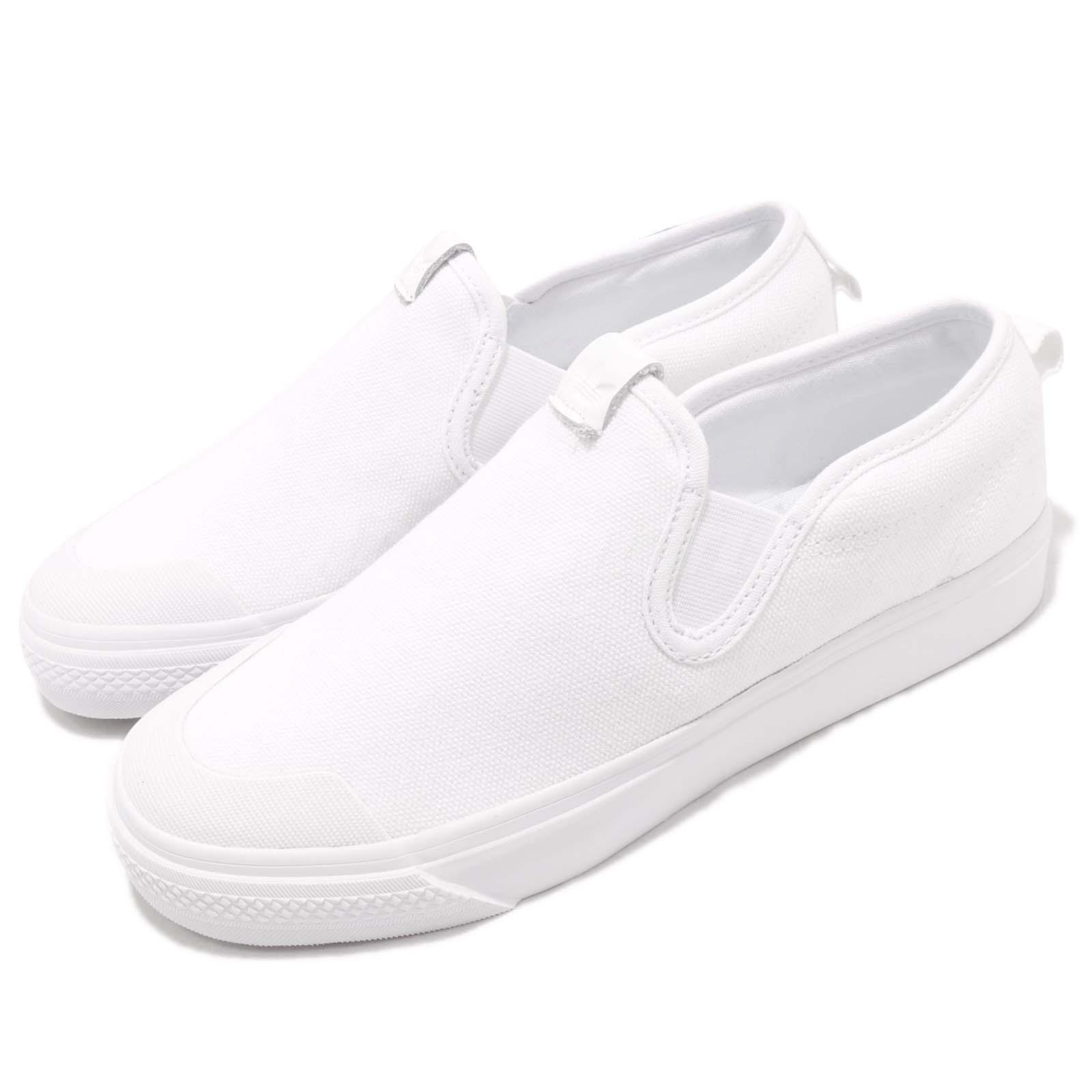 adidas Originals Nizza Slipon W White Women Slip On Casual ...