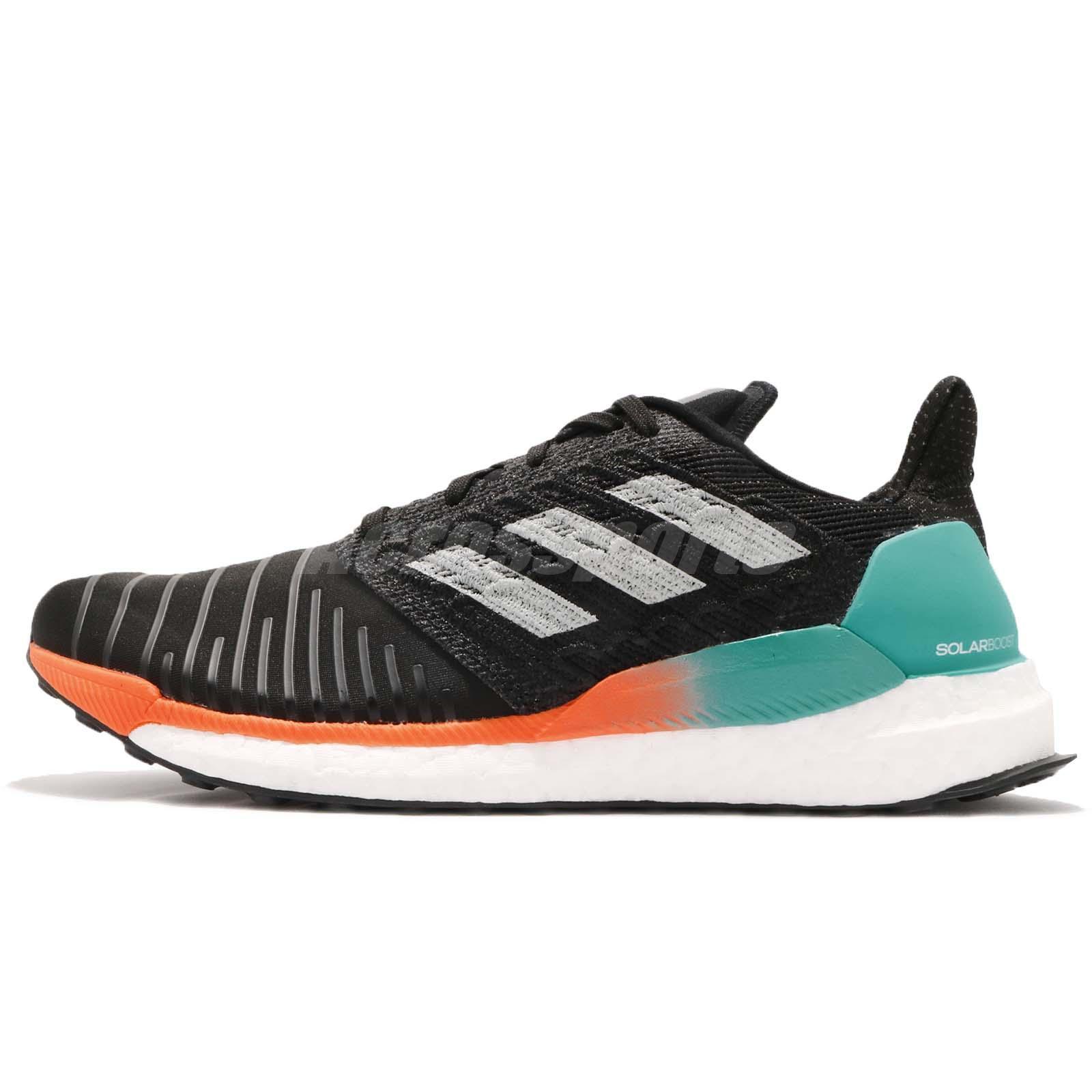 6c7622ea281f0 adidas Solar BOOST M Hi-Res Aqua Black Grey Men Running Shoes Sneakers  CQ3168