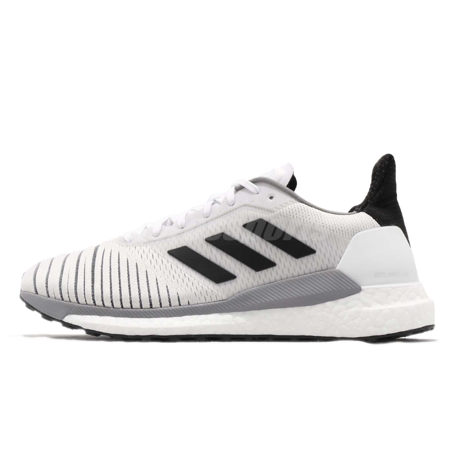 aa07bc0de71 adidas Solar Glide M Boost White Black Grey Men Running Shoes Sneakers  CQ3177