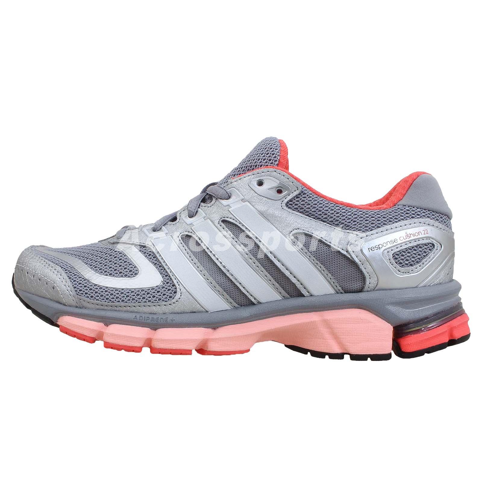 adidas response cushion 22 w grey silver 2014 womens