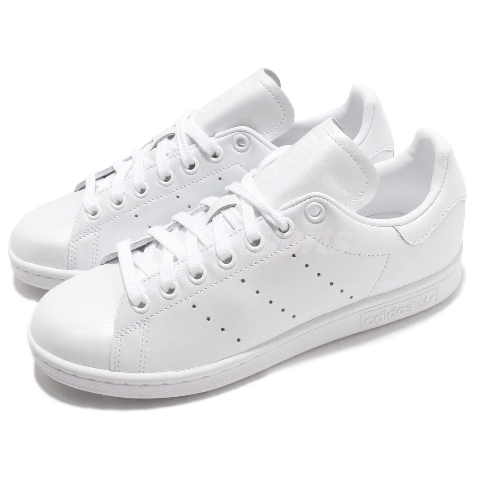 najlepsze buty kolejna szansa niepokonany x Details about adidas Originals Stan Smith W Triple White Women Casual Shoes  Sneakers D96792