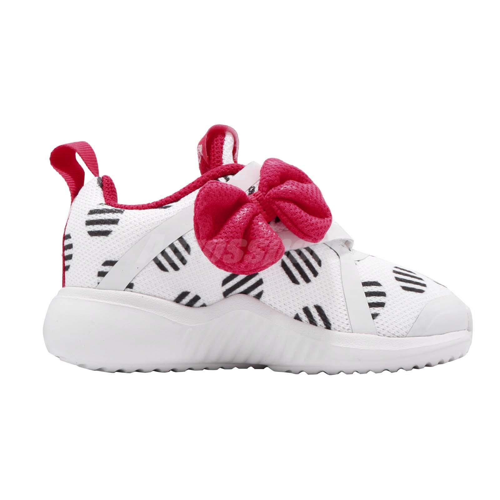 04b2a652d30 adidas FortaRun X Minnie CF I Disney White Pink TD Toddler Infant ...