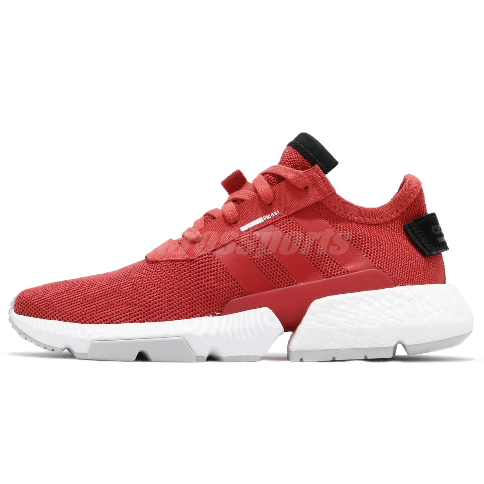 adidas Originals POD-S3.1 System Tactile Red Men Running Shoes Sneakers  D97202 f847ebeef21