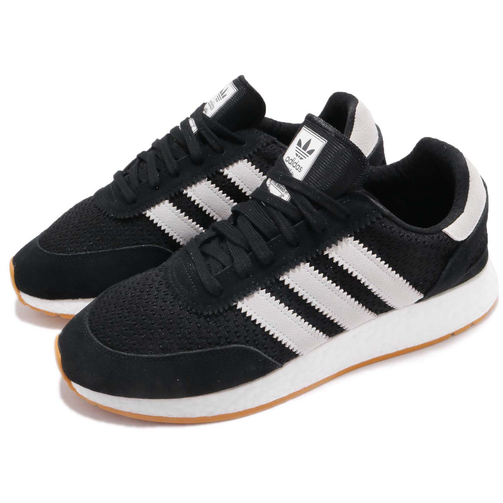8501279811f2c Details about adidas Originals I-5923 Iniki Runner Black White Gum Men  Running Shoes D97213