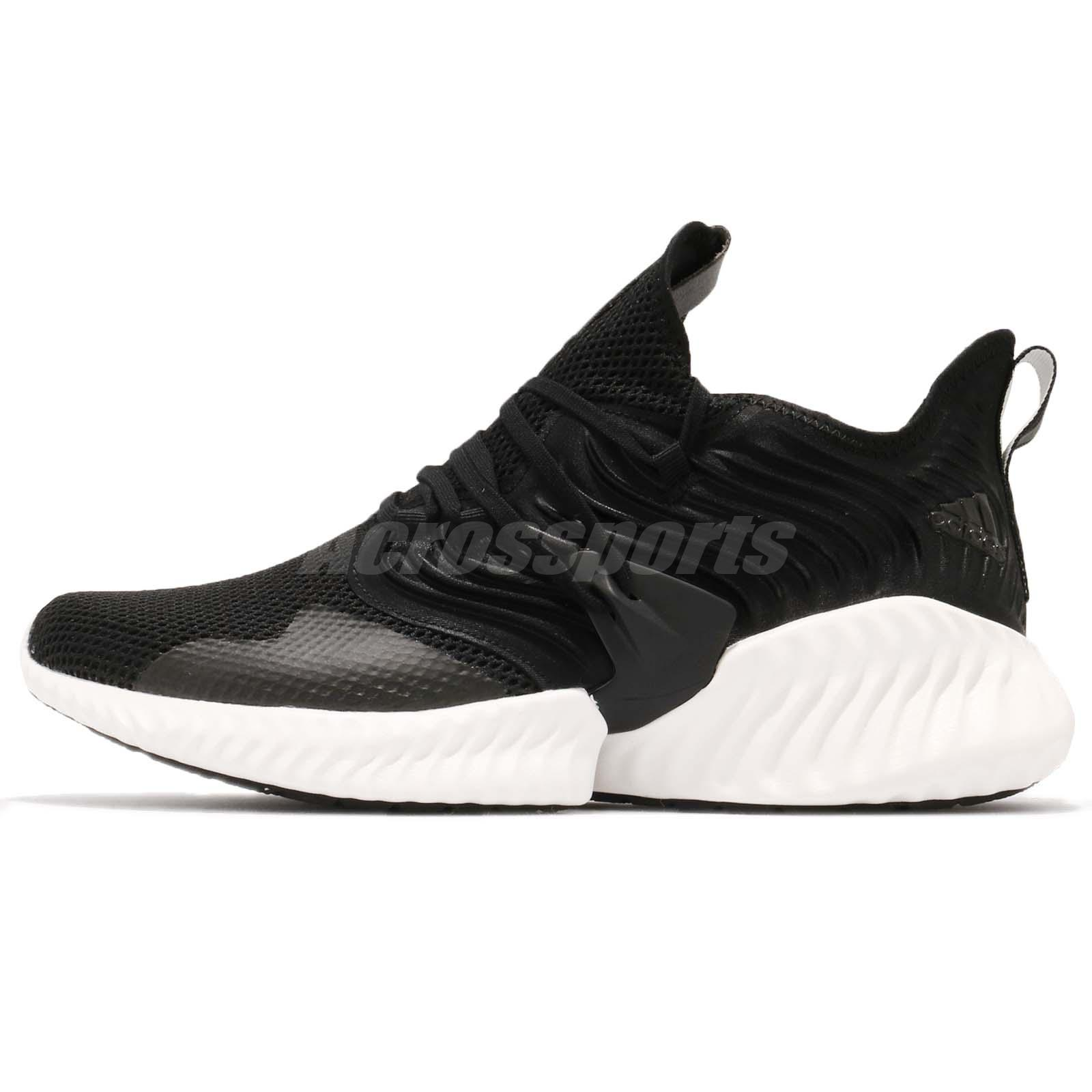8aa1a22cf2f83 Details about adidas Alphabounce Instinct CC M Clima Black White Men  Running Shoes D97280