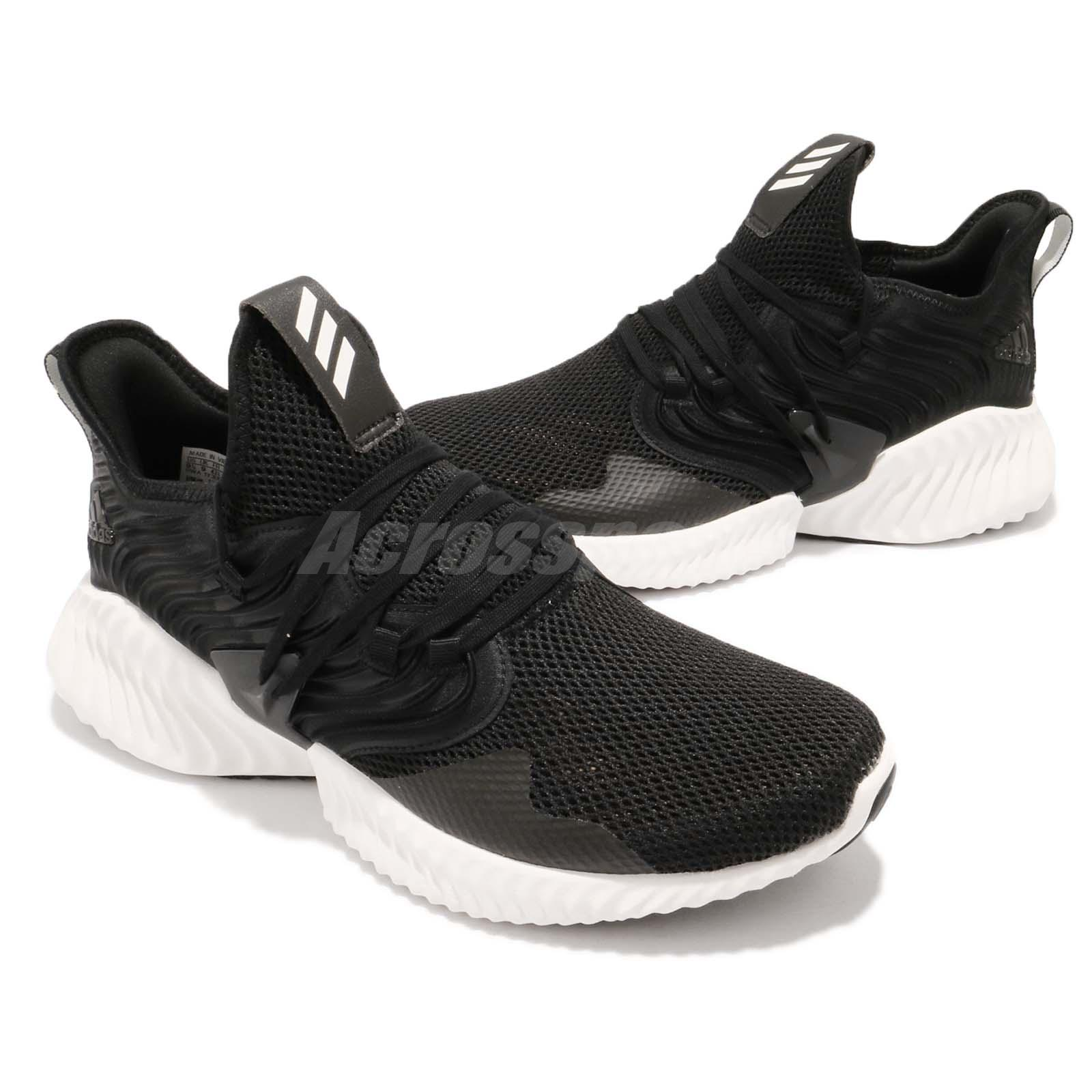 e32f5fb15 adidas Alphabounce Instinct CC M Clima Black White Men Running Shoes ...