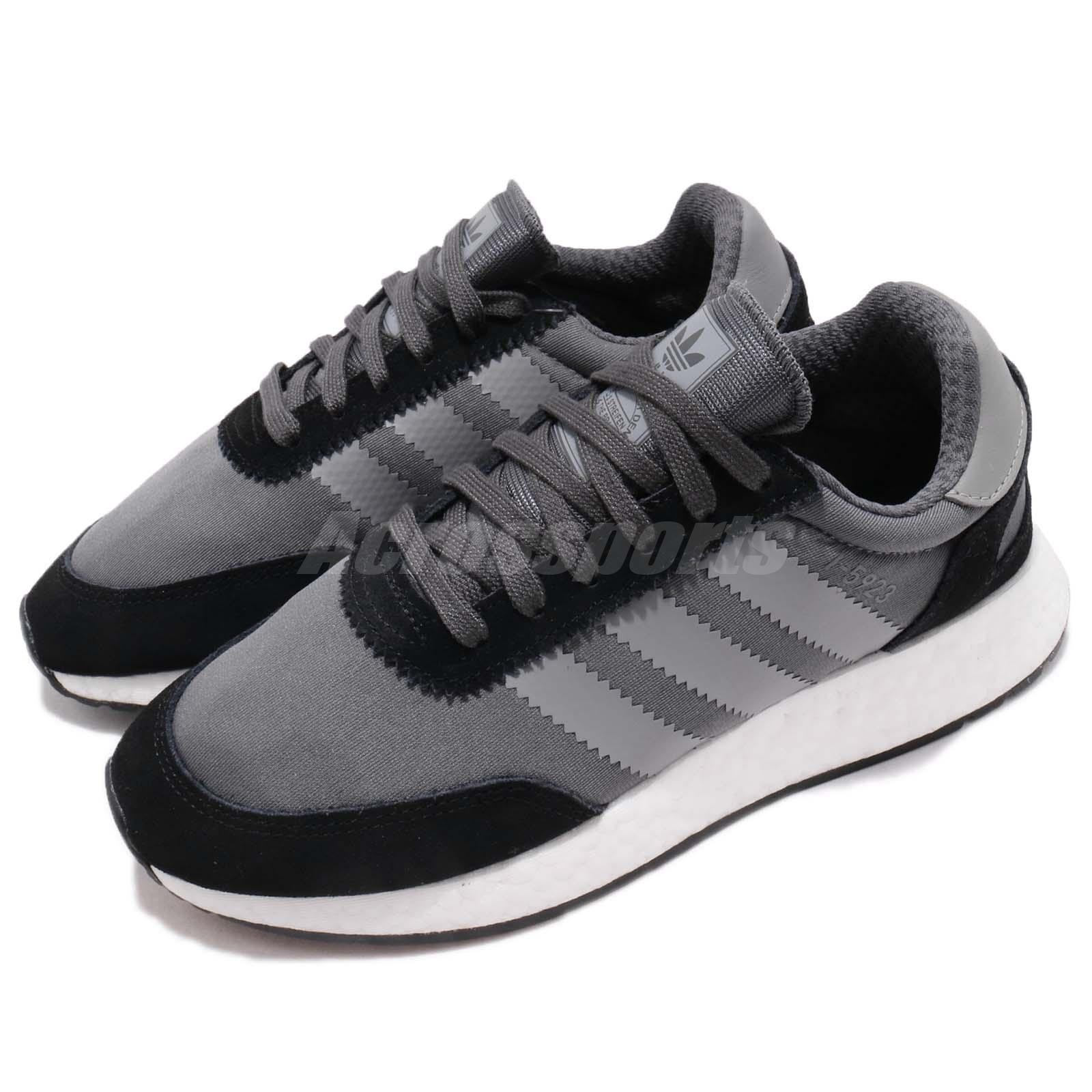 Dettagli su adidas Originals I 5923 W Iniki Runner Black Grey Women Running Shoes D97353