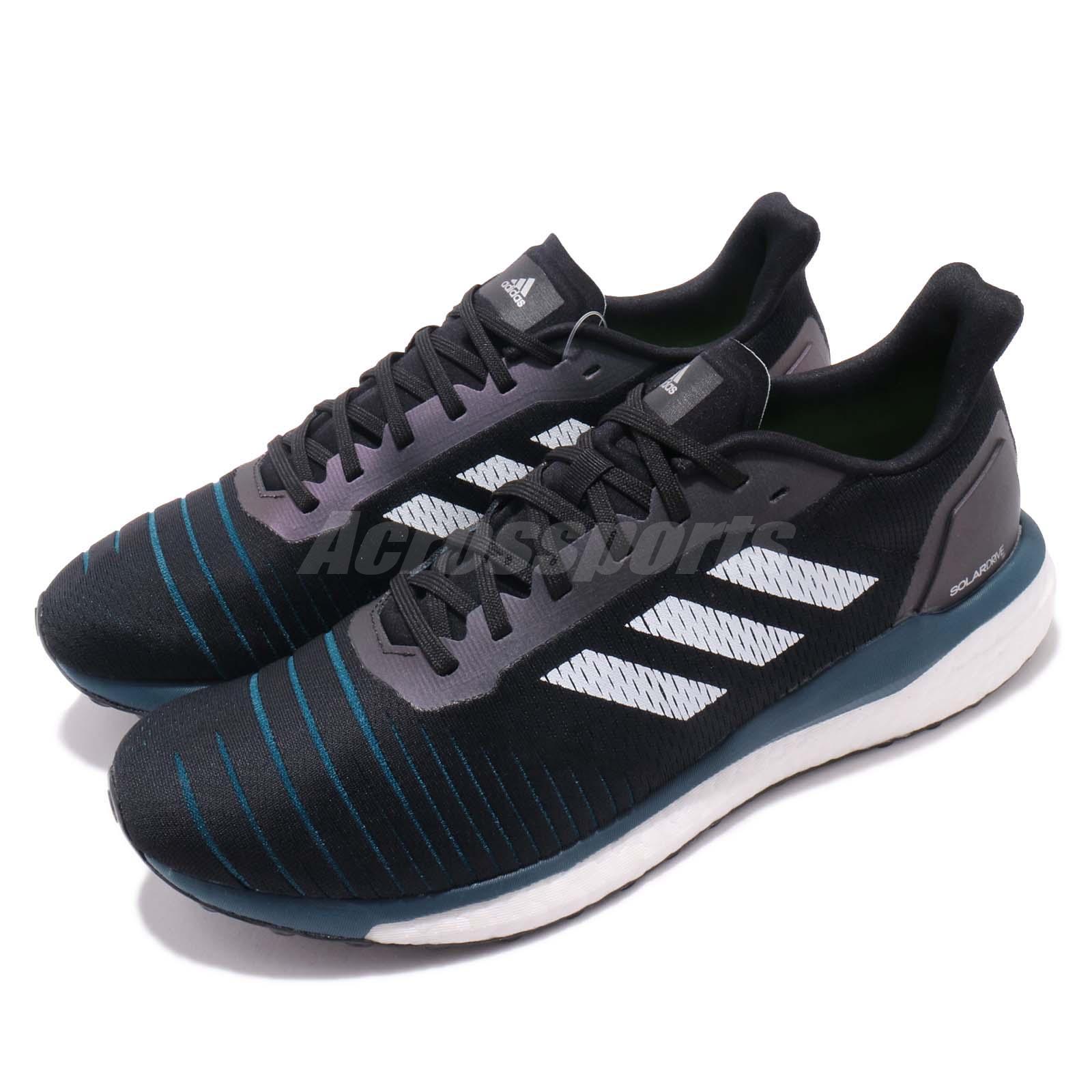 evidenziare vario Viaggiatore  adidas Solar Drive M Black White Legend Marine Men Running Shoes Sneakers  D97442   eBay