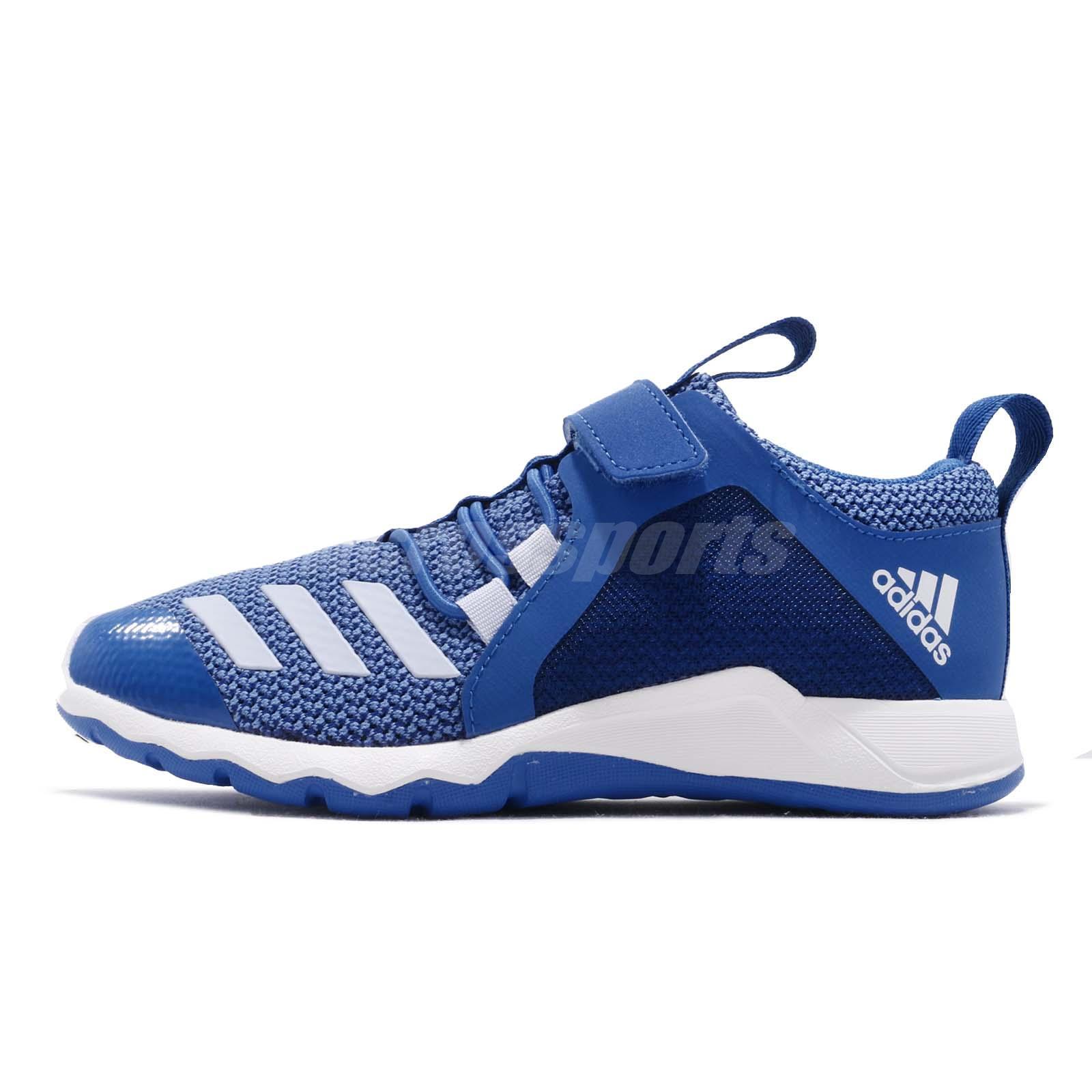dc89e5f568b adidas RapidaFlex Aero Blue Collegiate Royal White Kid Preschool Shoes  D97604