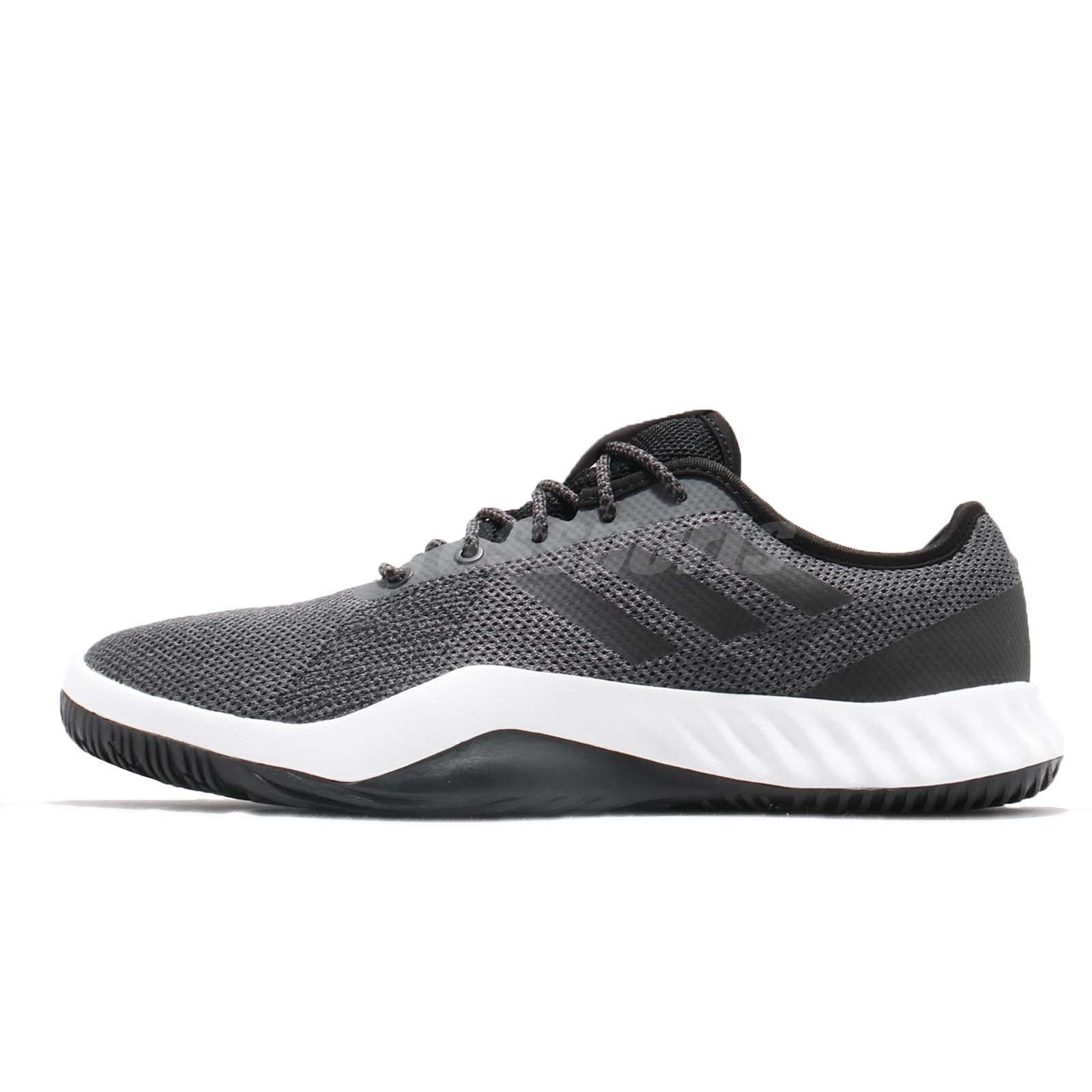 finest selection 9fe2e 574b3 Details about adidas CrazyTrain LT M Grey Black Men Cross Training Shoes  Sneakers DA8689