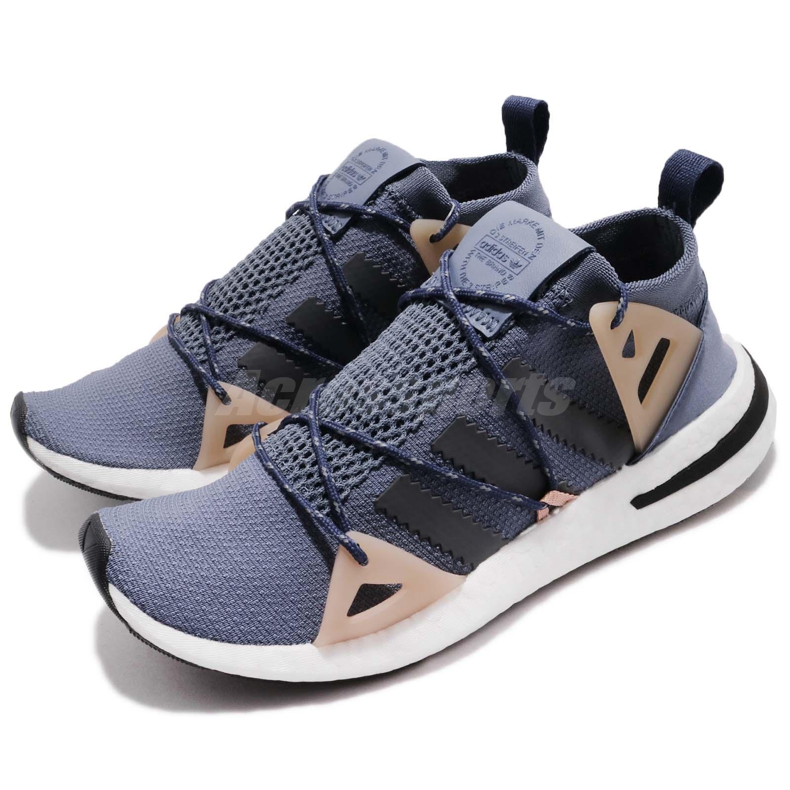 new concept f04b9 0362c Details about adidas Originals ARKYN W Steel Grey Ash Pearl Women Running  Shoes Sneaker DA9606