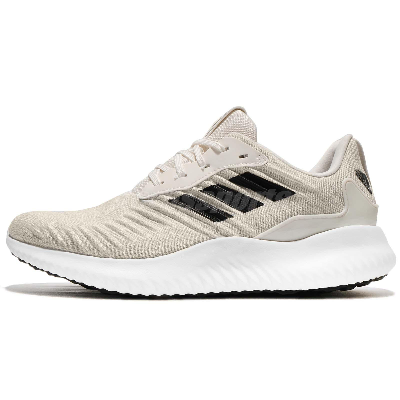 new style f1d09 1b39e ... adidas Alphabounce RC M White Black Ivory Men Running Shoes Sneakers  DA9770 ...