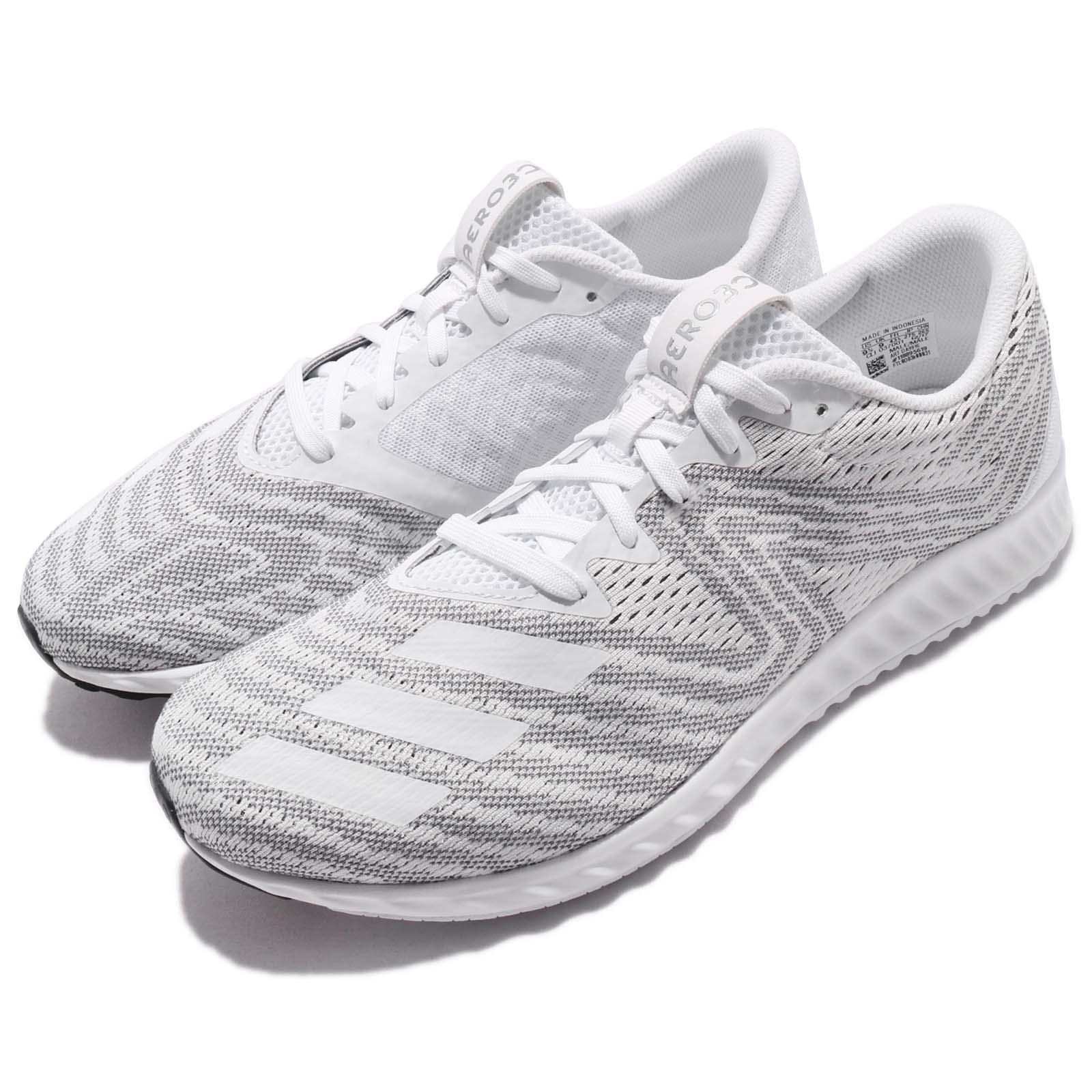 White And Silver Bounce Brand Shoes