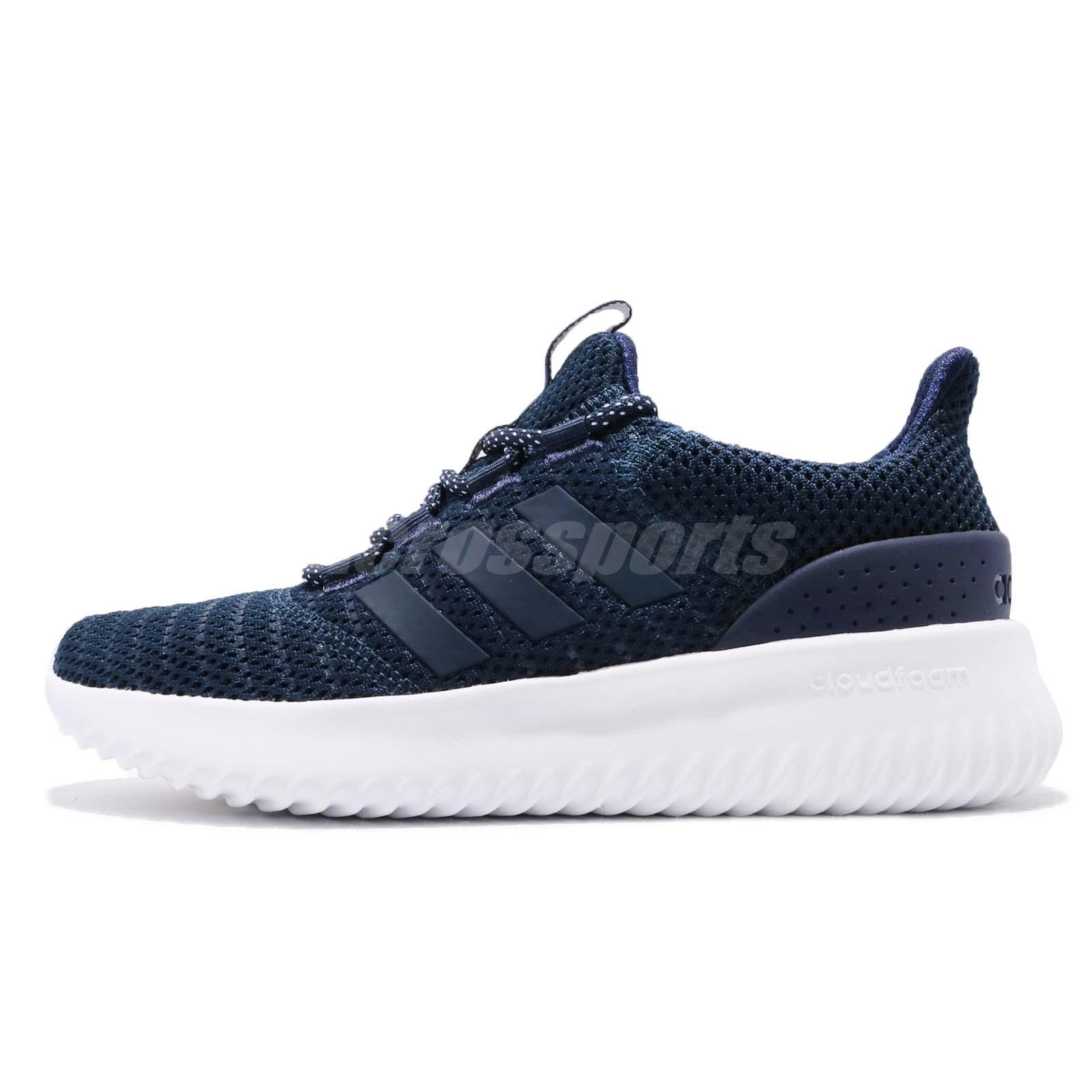 adidas Cloudfoam Ultimate Core Navy White Women Running Shoes Sneakers  DB0606 178610e0a