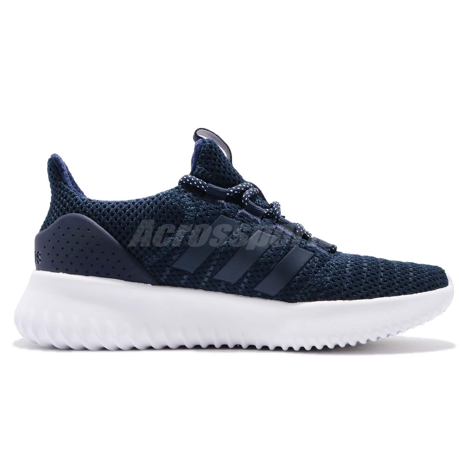 adidas Cloudfoam Ultimate Core Navy White Women Running Shoes ... 41c48576a