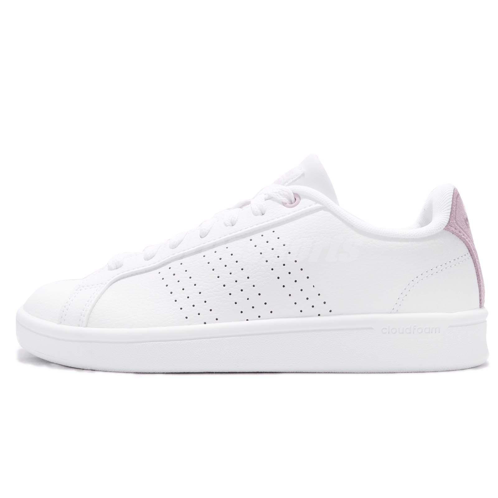 super populair fabriek jongen Details about adidas CF Advantage CL CloudFoam White Pink Women Casual  Shoes Sneakers DB0893