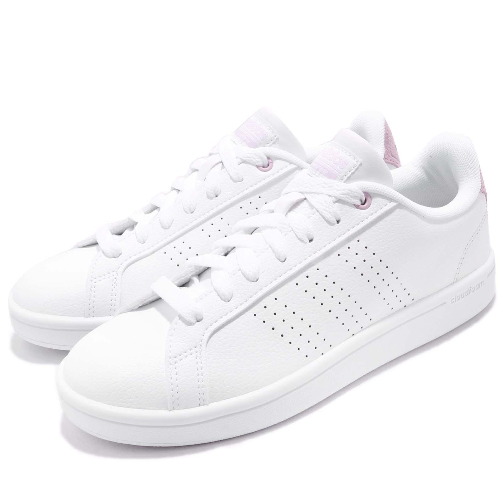 Details about adidas CF Advantage CL CloudFoam White Pink Women Casual  Shoes Sneakers DB0893
