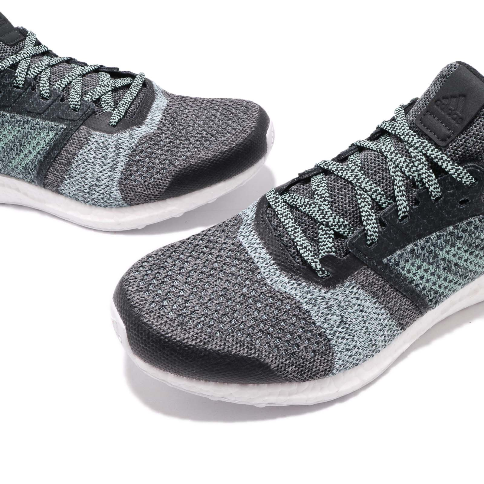 competitive price d65f4 4f9ec Details about adidas UltraBOOST ST Parley For The Oceans Blue Spirit Grey  Men Running DB0925