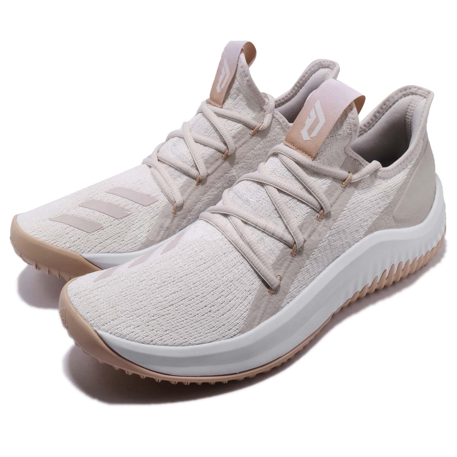 the best attitude bf9b8 b7088 Details about adidas Dame D.O.L.L.A. Damian Lillard Crystal White Basketball  Shoes DB1074