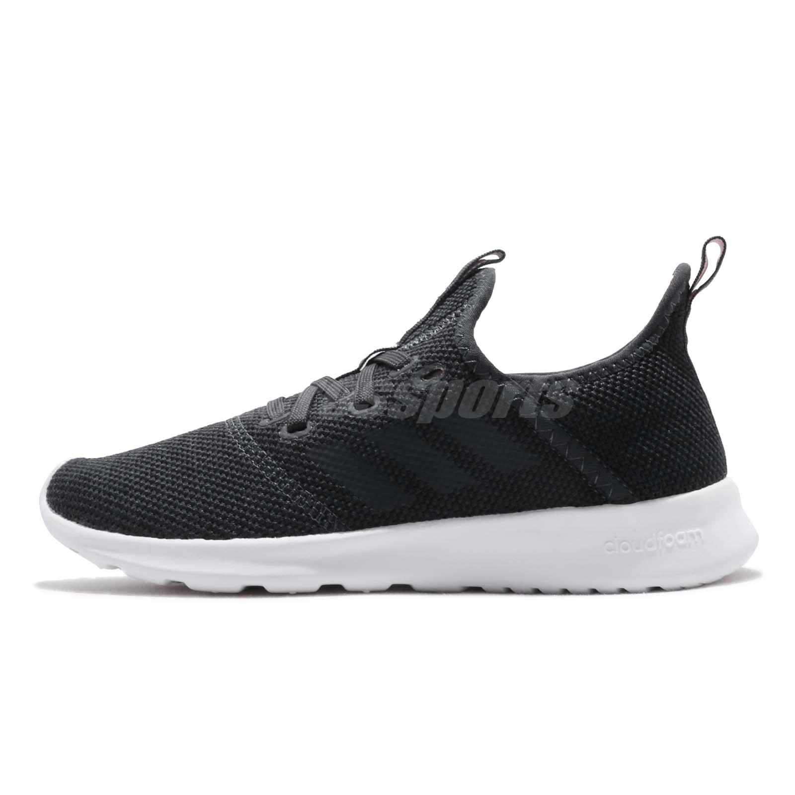 adidas Cloudfoam Pure Carbon Haze Coral Women Running Shoes Sneakers DB1165 6e9d41723