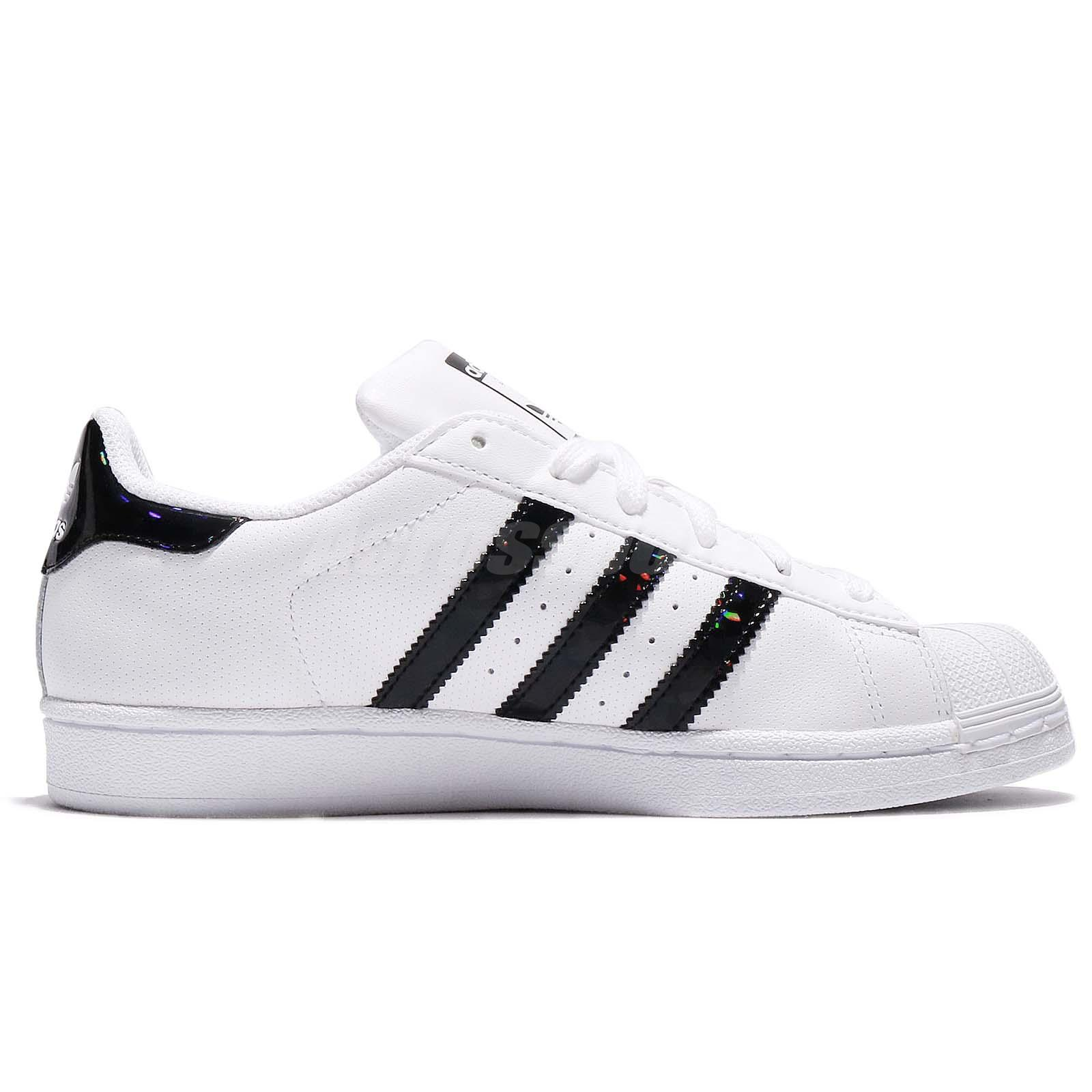 women's adidas superstar white /black top country music videos