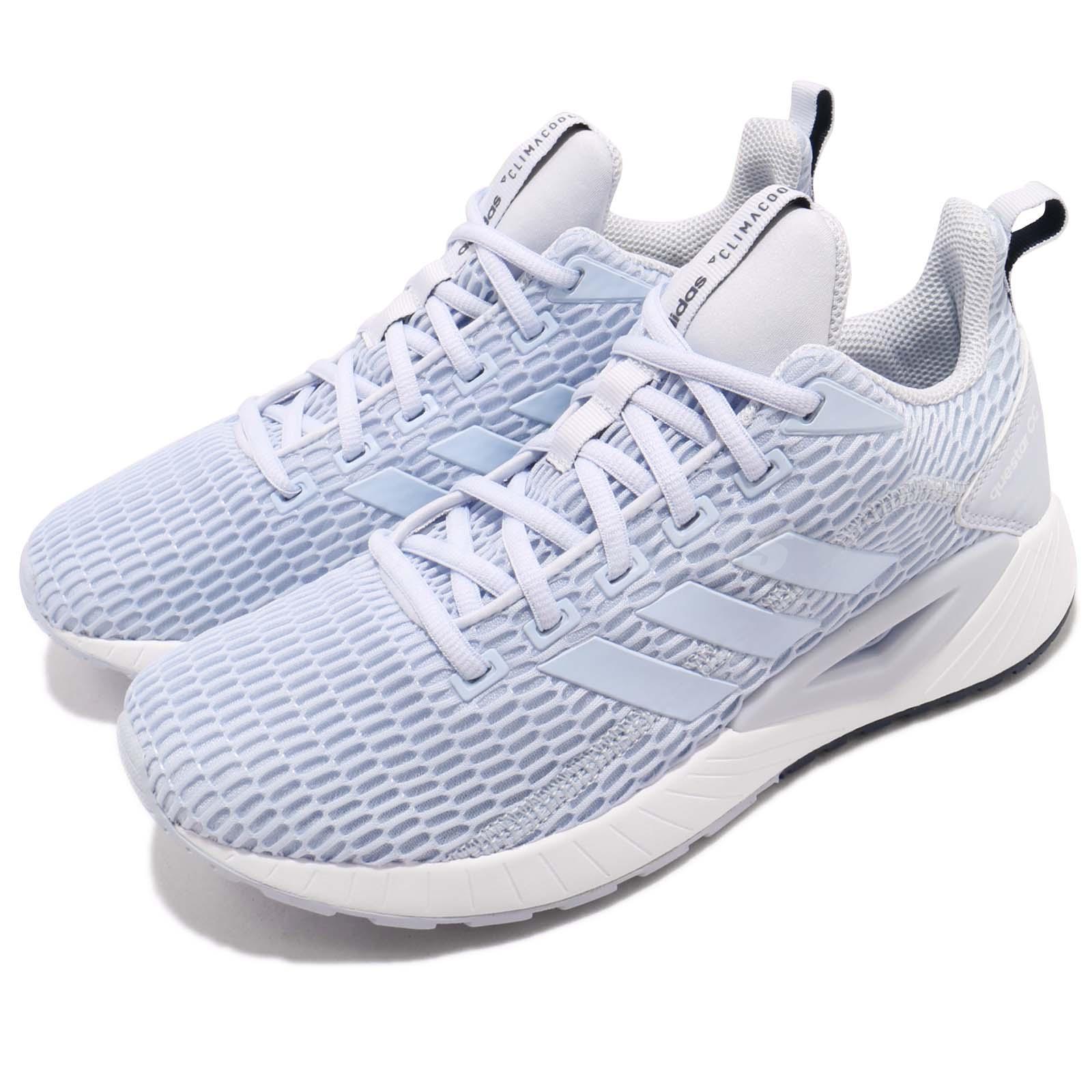 best sneakers 3d7d0 a99d1 Details about adidas Questar CC W Aero Blue Core Navy Women Running Shoes  Sneakers DB1304