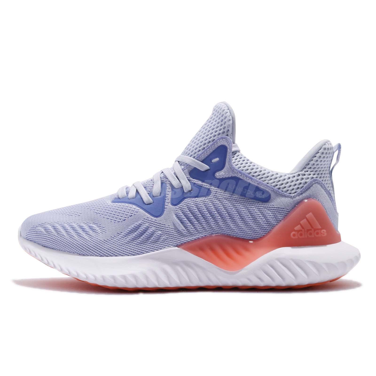 dd921d655 adidas AlphaBOUNCE Beyond J Aero Blue Pink Kids Junior Running Shoes DB1409