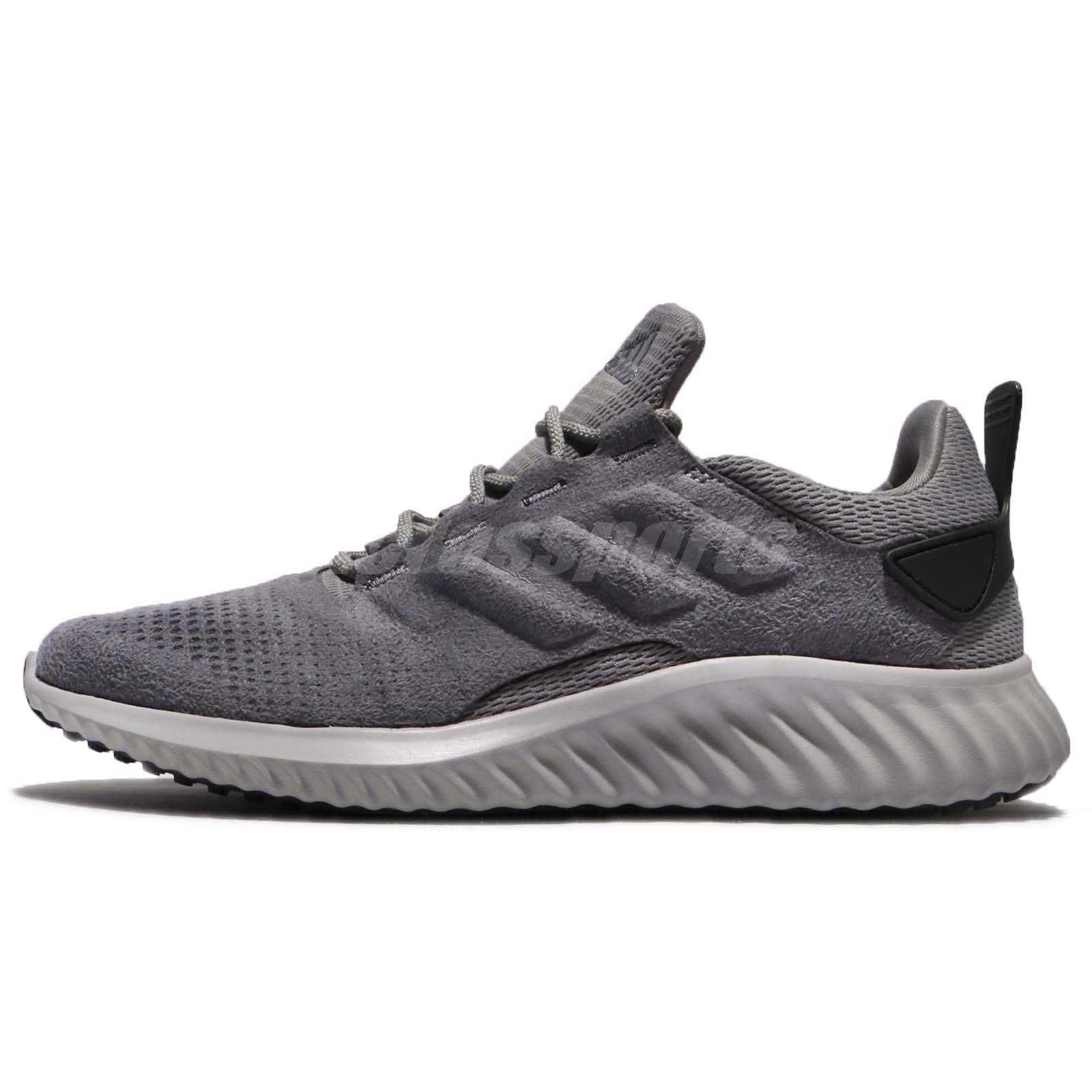 abfb74f7e5f79 adidas Alphabounce CR M Grey Black Men Running Training Shoes Sneakers  DB1676