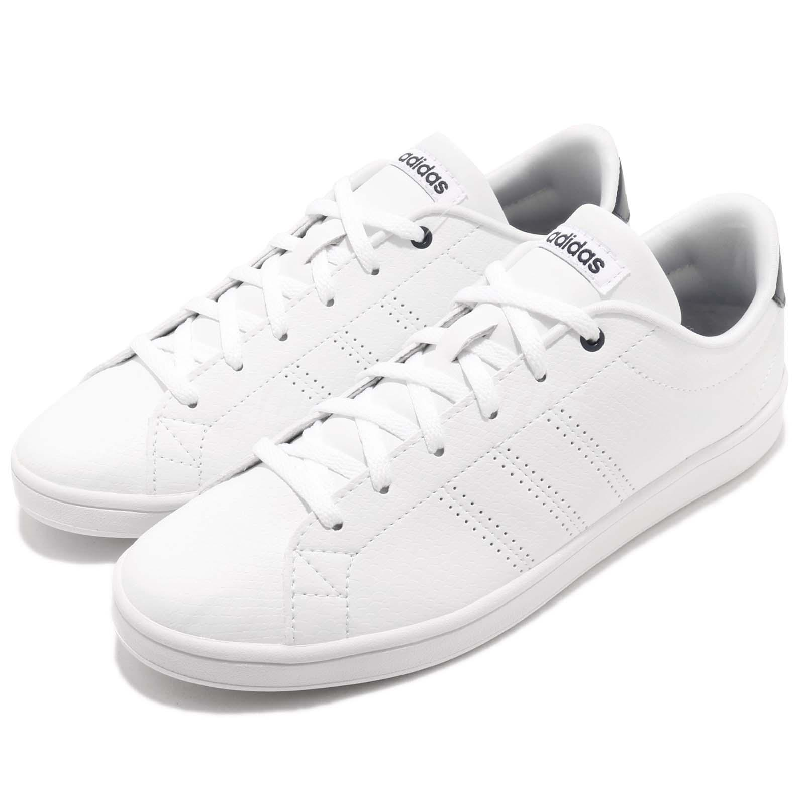 sports shoes e91f2 4dae3 Details about adidas Neo Advantage Clean QT Footwear White Navy Women  Casual Shoes DB1853