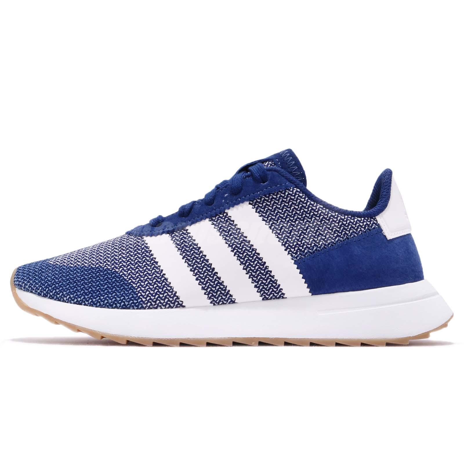premium selection 6bc8d 157ac adidas Originals FLB Runner W Blue White Gum Women Running Shoes Sneakers  DB2117