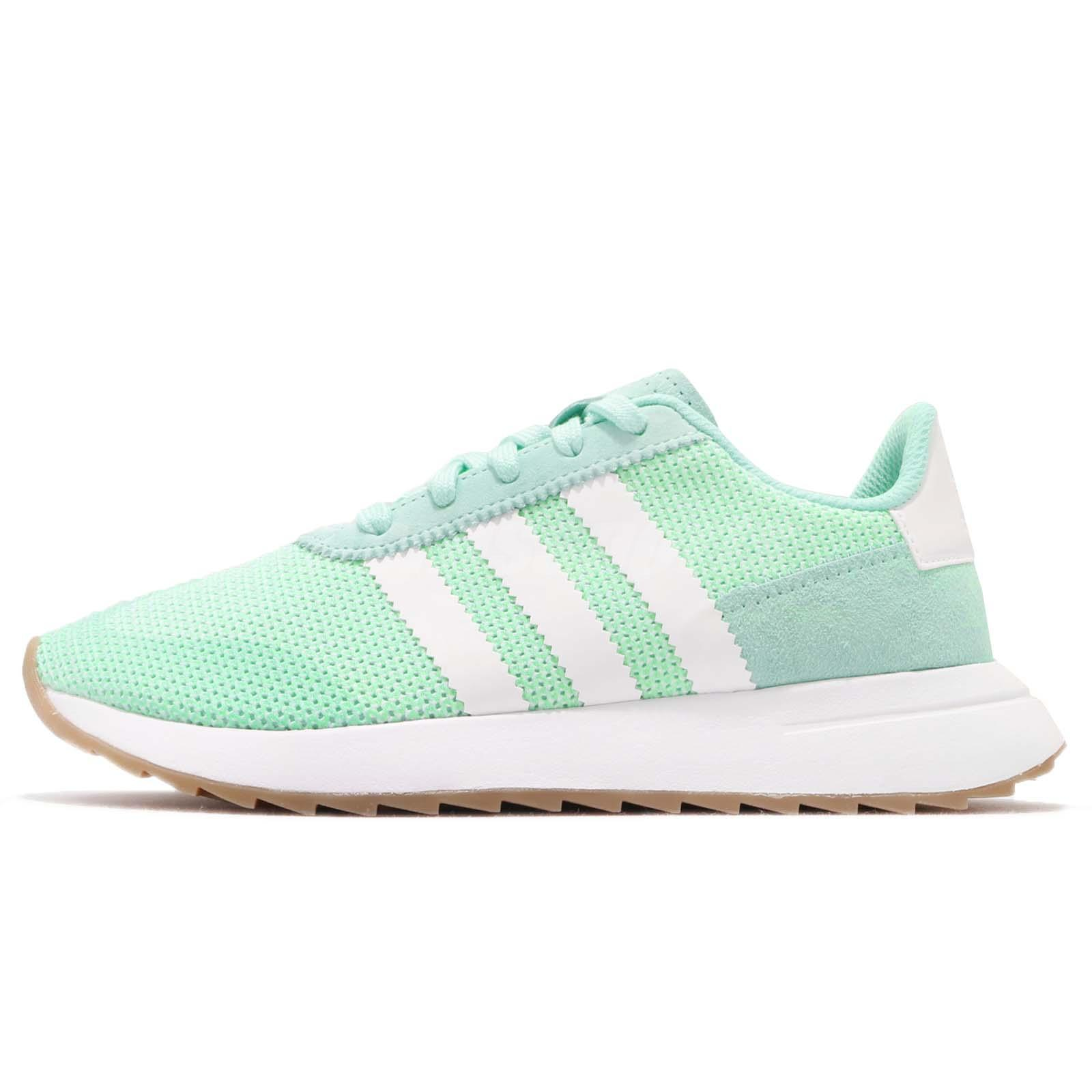 25b793b1e3a1 adidas Originals FLB Runner W Flashback Green White Women Running Shoes  DB2122