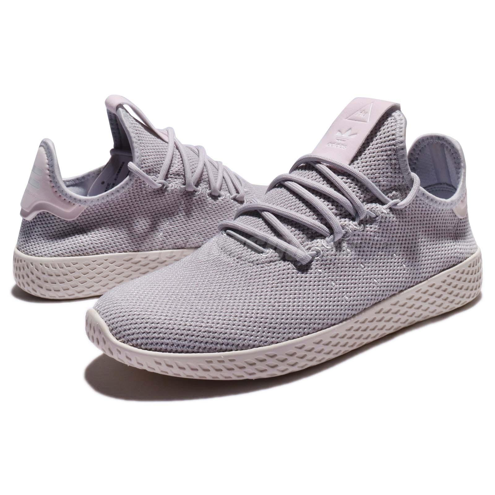 860f6dac2 Details about adidas Originals PW Tennis Hu W Pharrell Williams Grey Chalk  Women Shoes DB2553