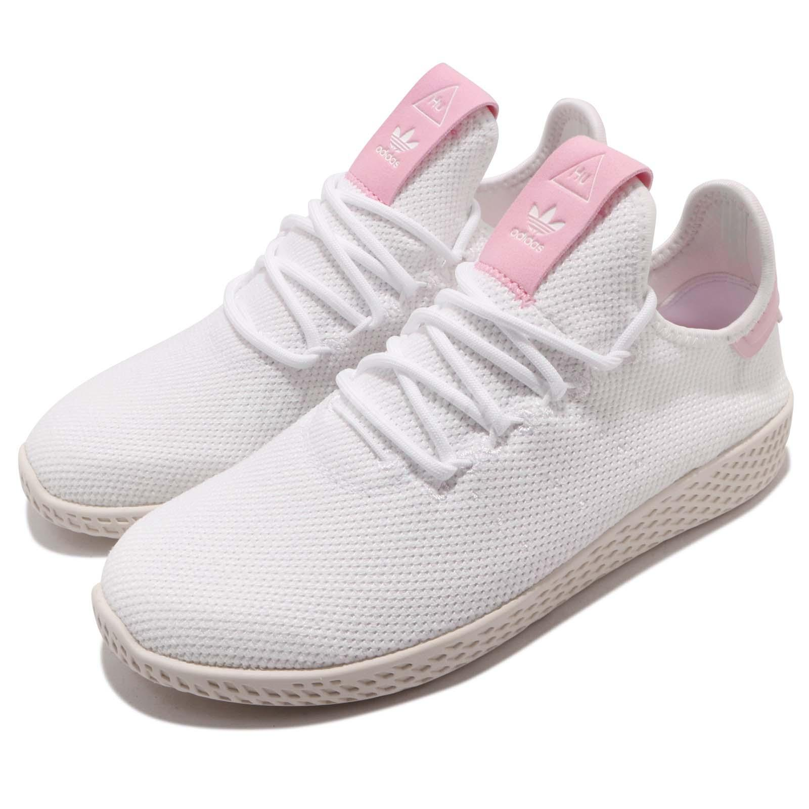 2fc79753ac685 Details about adidas Originals PW Tennis Hu W Footwear White Pink Women  Casual Shoes DB2558