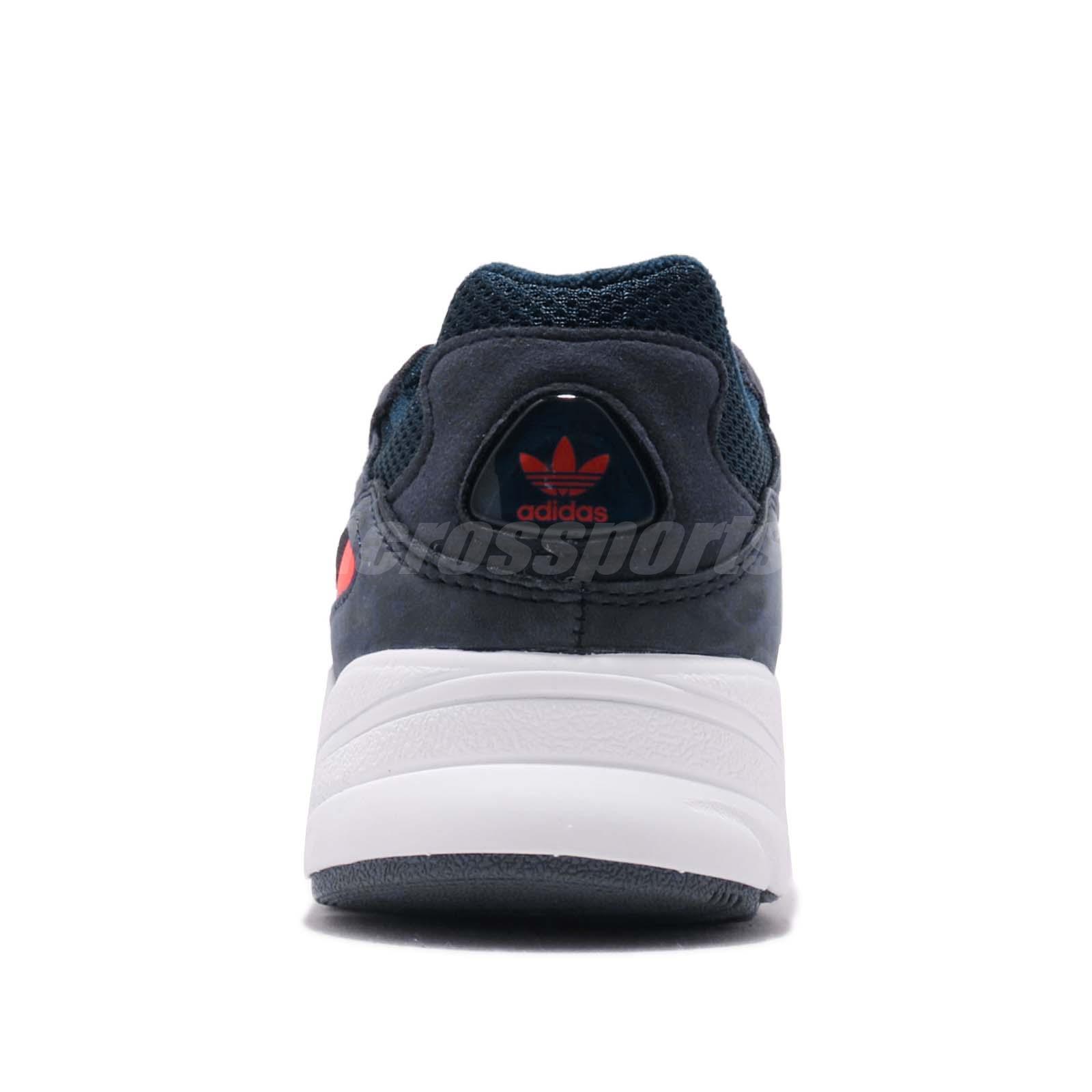 ee4b1ed46fcaf8 adidas Originals Yung-96 Navy Solar Red Mens Retro Running Shoes ...