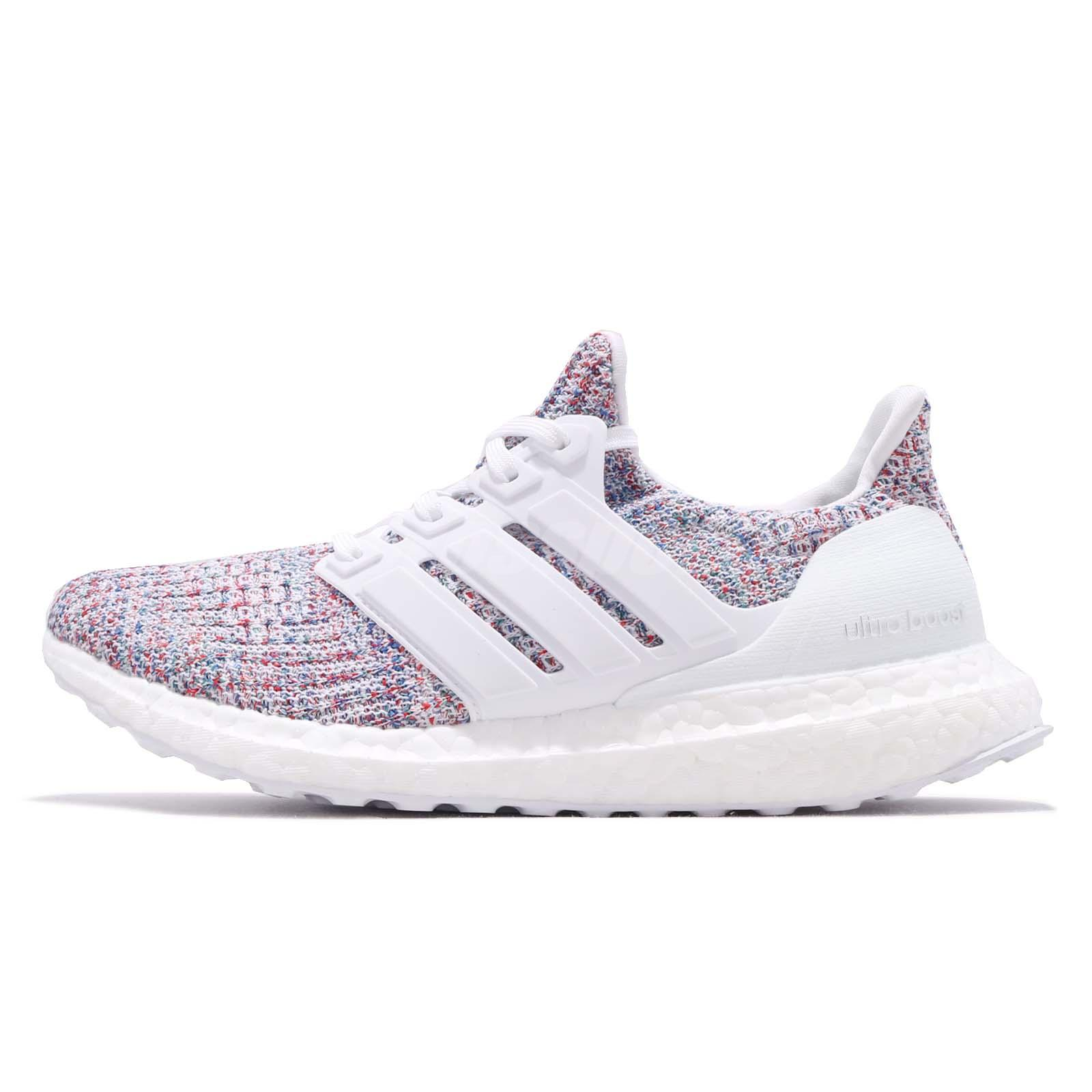 premium selection 5d7bf db464 adidas UltraBOOST W 4.0 Multi-Color White Womens Running Shoes BOOST DB3211
