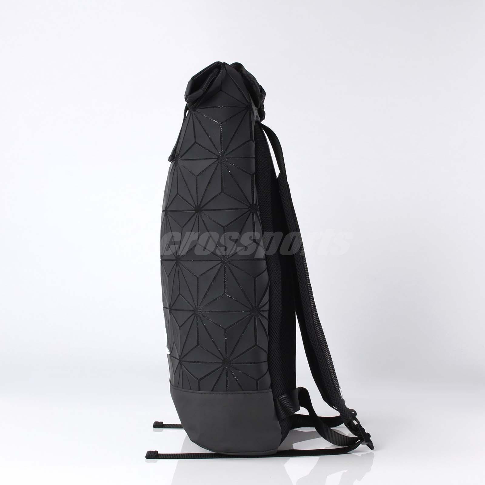 Source · adidas Originals BP Roll Top 3D Mesh 2017 Black White Backpack Bag e4cca72e1f