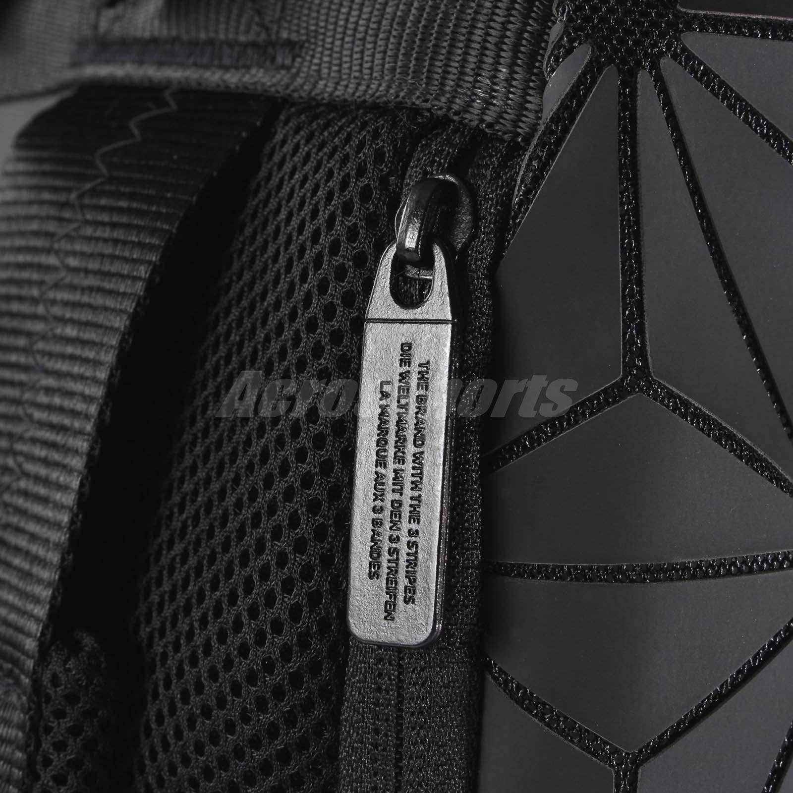e62a8dd948 adidas Originals BP Roll Top 3D Mesh 2017 Black White Backpack Bag ...