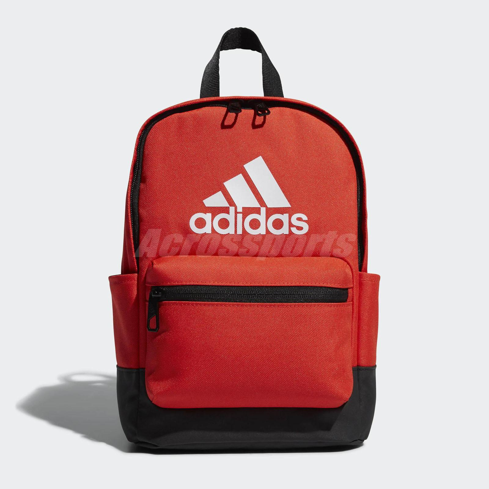 5d03ec61e4 Details about adidas Kids Backpack Classic Sport School Bag Training  Workout Orange DN3507