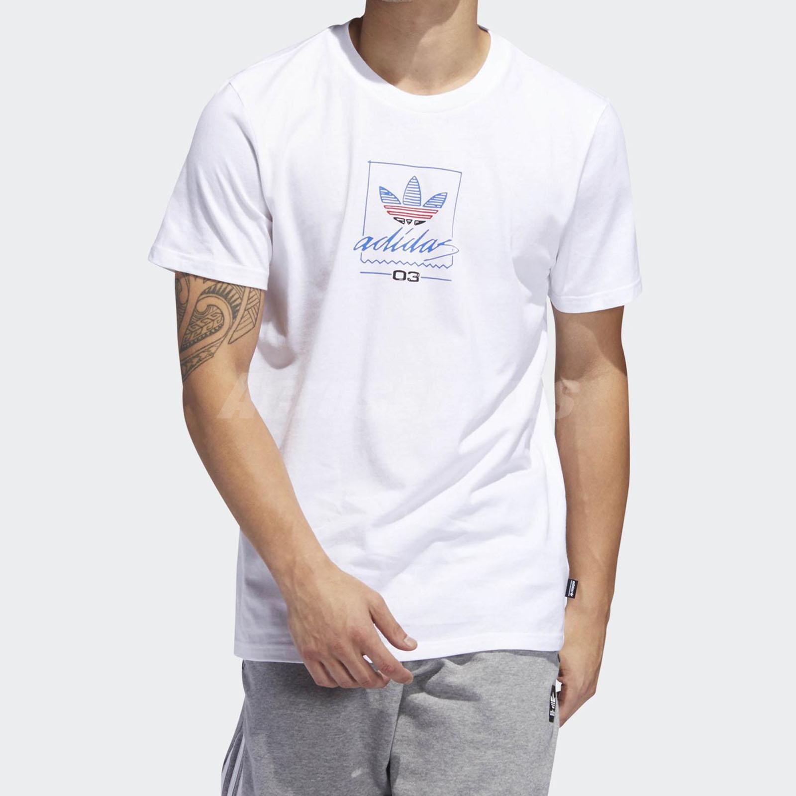 Inactivo Incienso Despertar  adidas Originals Grand Tee Broadway Bullet Skateboarding New York White  DU8341 | eBay