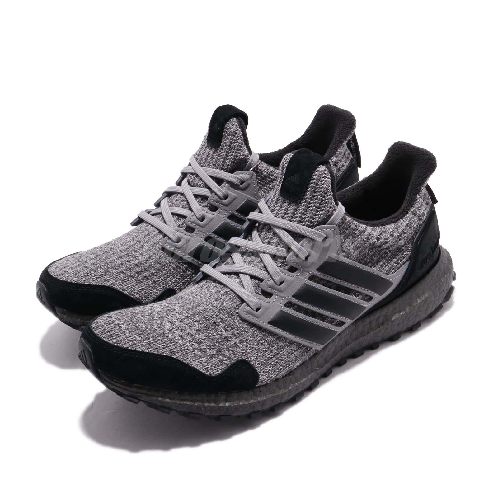 f31fc040303f9 Details about adidas UltraBOOST Game Of Thrones House Stark Black Grey Men  Running Shoe EE3706