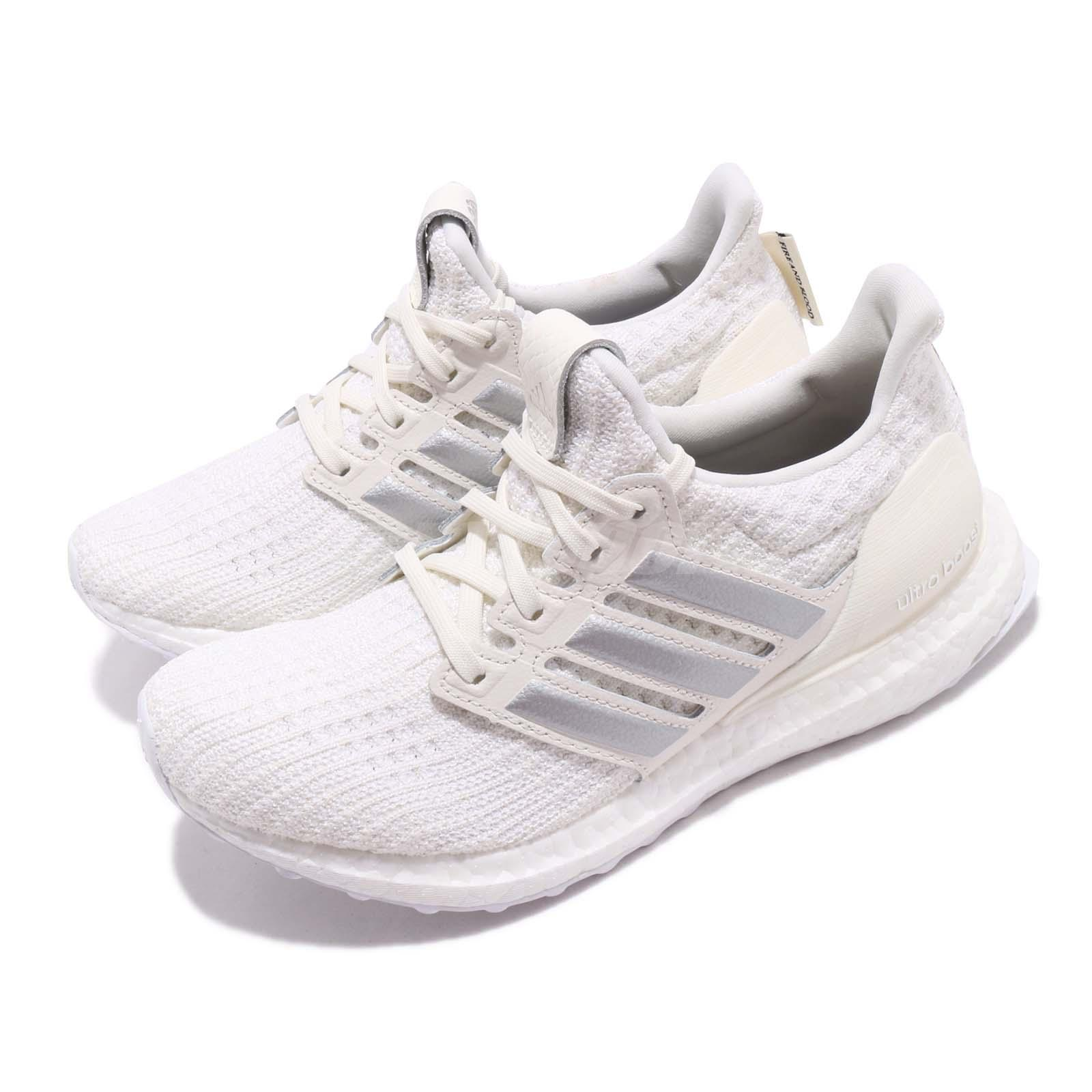Details about adidas UltraBOOST Game Of Thrones House Targaryen White Silver Women Shoe EE3711