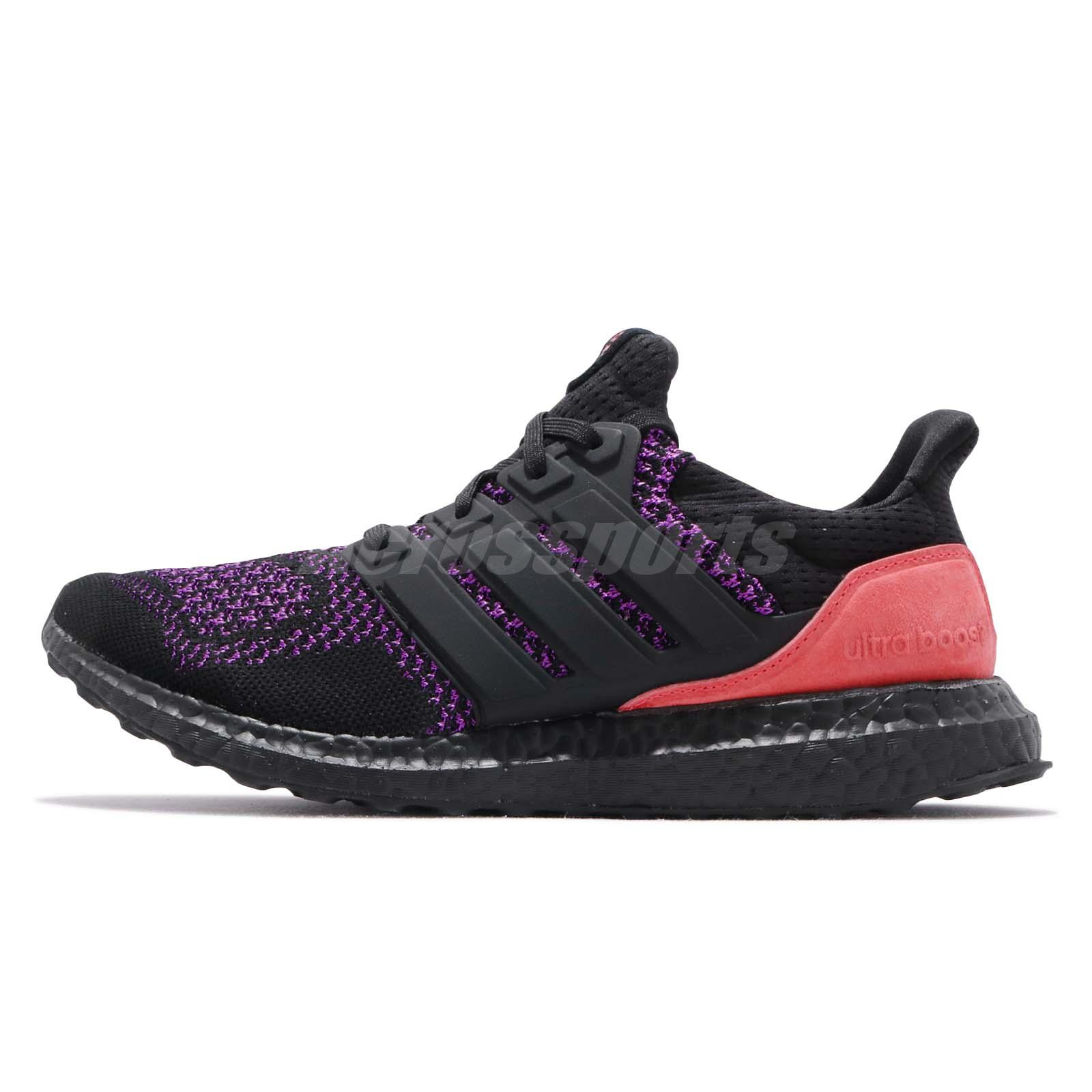 outlet store 4dcf2 ca325 Details about adidas UltraBOOST CBC Black Purple Pink Men Running Training  Shoe Sneaker EE3712