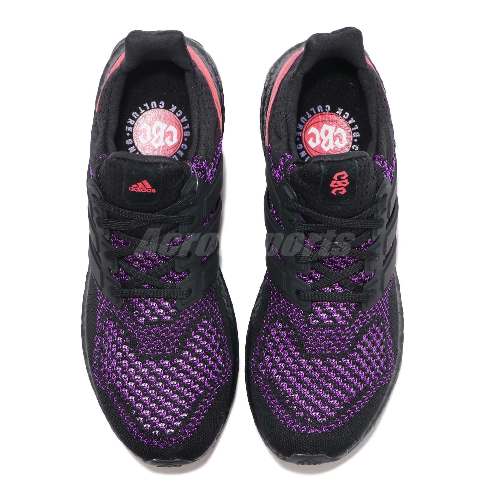 31641b081dd9a adidas UltraBOOST CBC Black Purple Pink Men Running Training Shoe ...