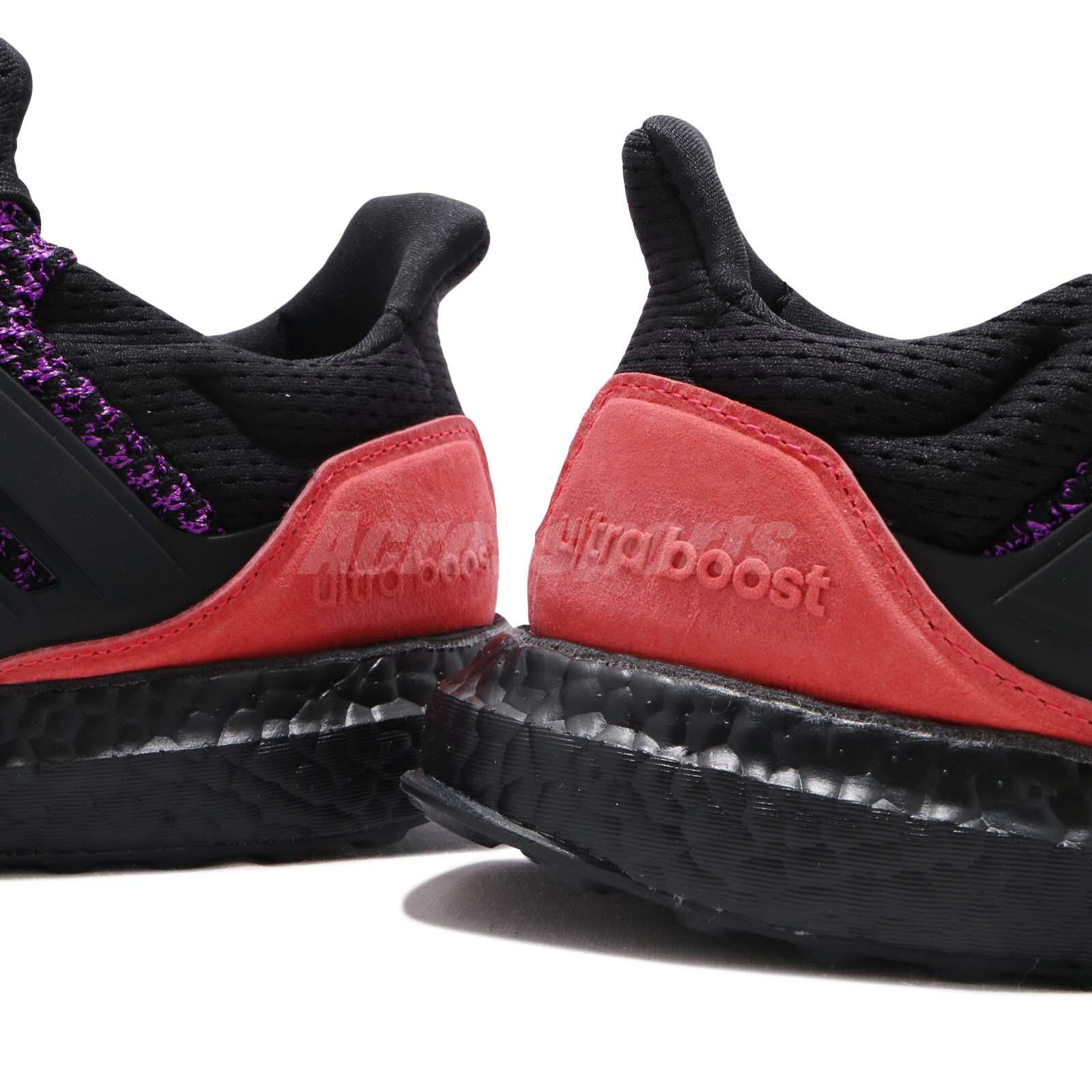 ba2a6ee30dc3b adidas UltraBOOST CBC Black Purple Pink Men Running Training Shoe ...
