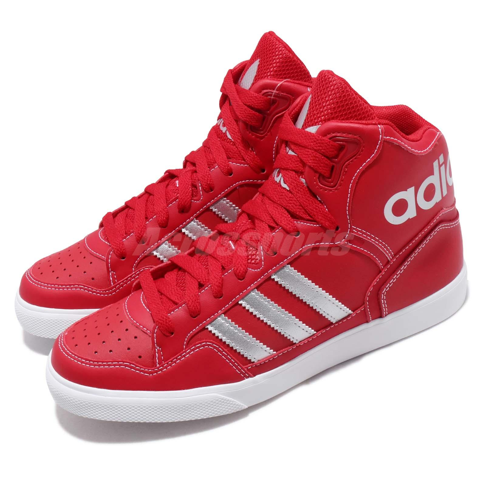 adidas Originals Extaball W Scarlet Silver White Women Shoes Sneakers EE3824